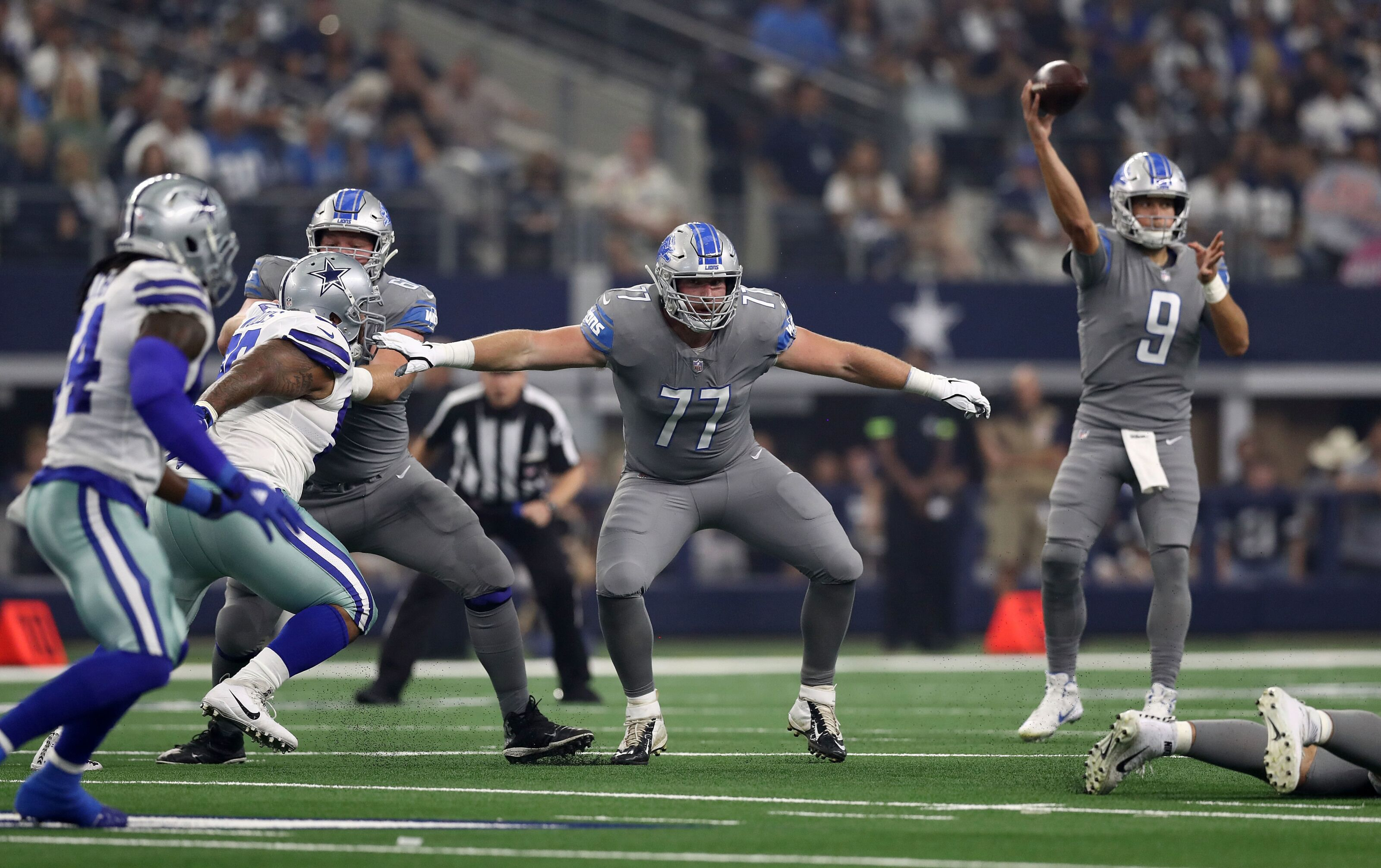 03145c04ce1 Detroit Lions change up the interior of their offensive line