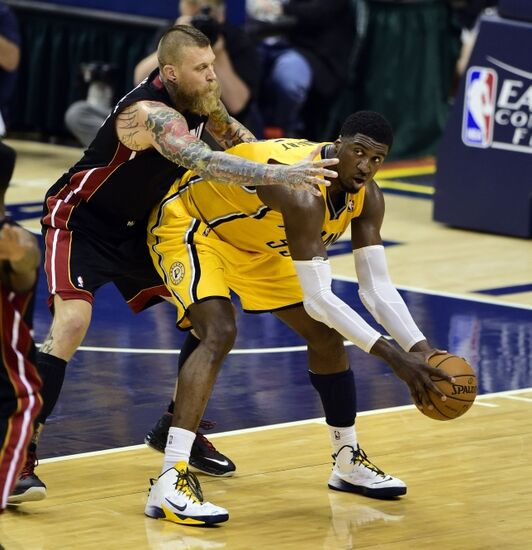 Nuggets Vs Rockets 2014: NBA Playoffs: A Miami Heat Vs Indiana Pacers Game 3