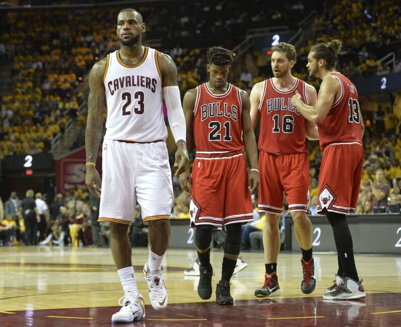 ac4e72ec823 Cleveland Cavaliers  LeBron James Learning The Cruel Reality Of Starting  Over