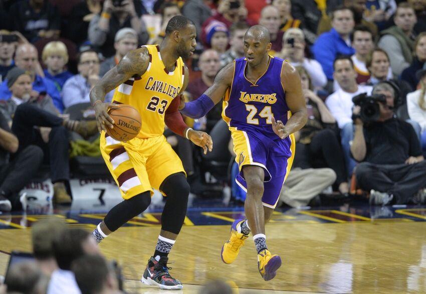 Kobe Lebron Lakers >> Los Angeles Lakers: Kobe Bryant Falls In Penultimate