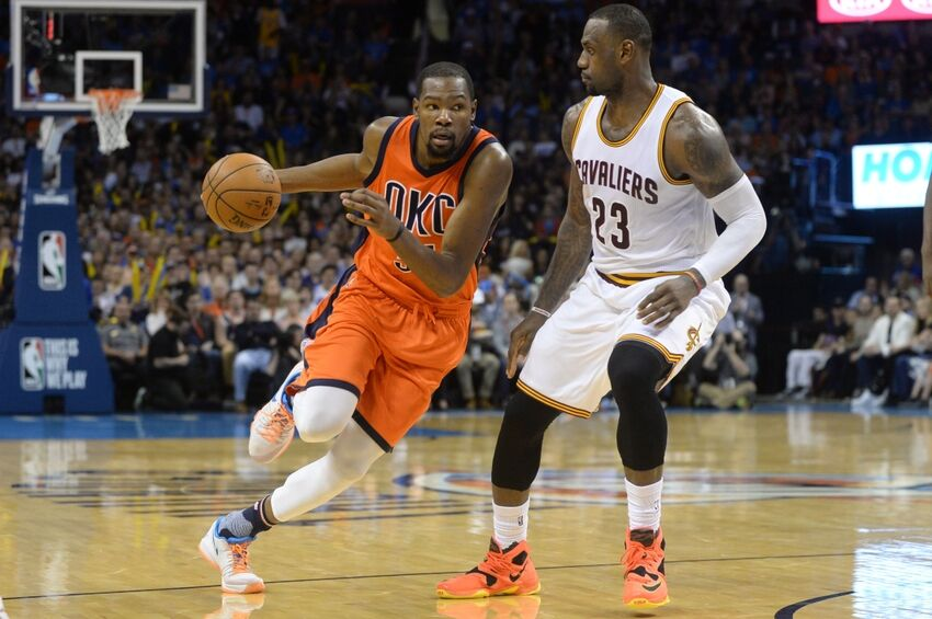 5e157af3442 NBA  LeBron James Forced Kevin Durant s Move To Golden State