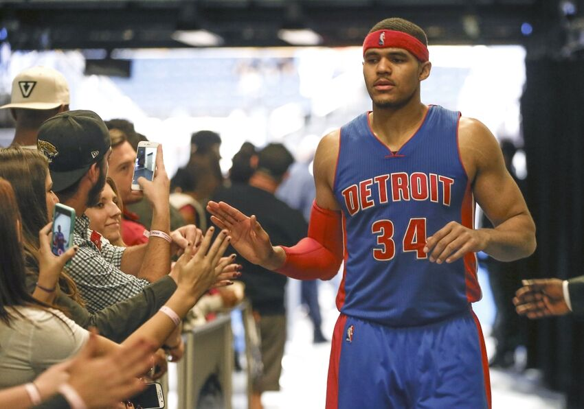 best website 86ec4 24fbc Detroit Pistons: Tobias Harris Continues To Star For The ...