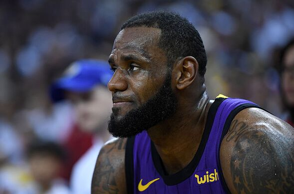 b83c0d8a1e01 NBA Los Angeles Lakers LeBron James (Photo by Thearon W. Henderson Getty  Images)