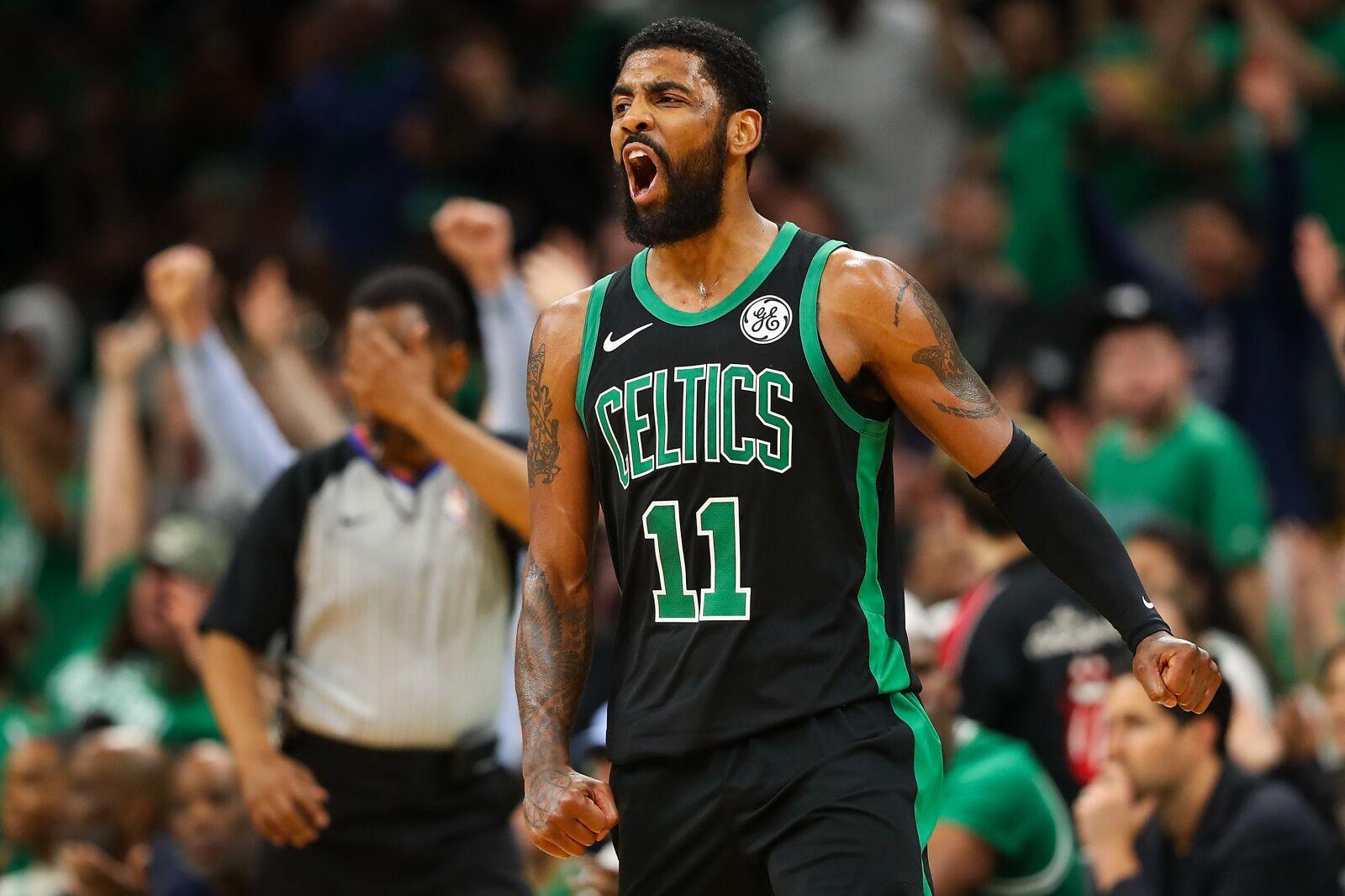 fdb4c6946a43 Boston Celtics  Playoff Kyrie Irving is back