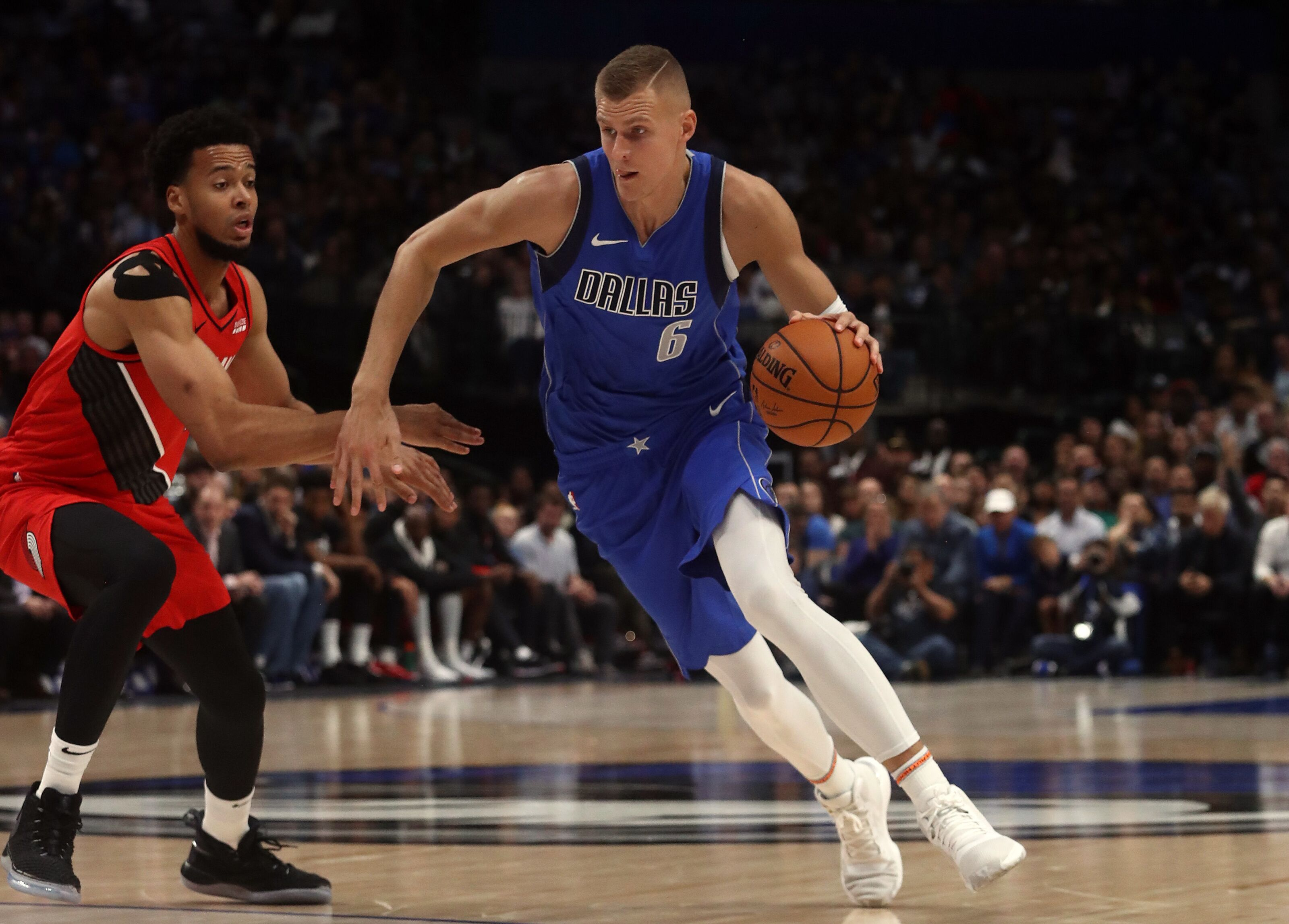 Dallas Mavericks: Concern rises around Kristaps Porzingis' lingering knee issues