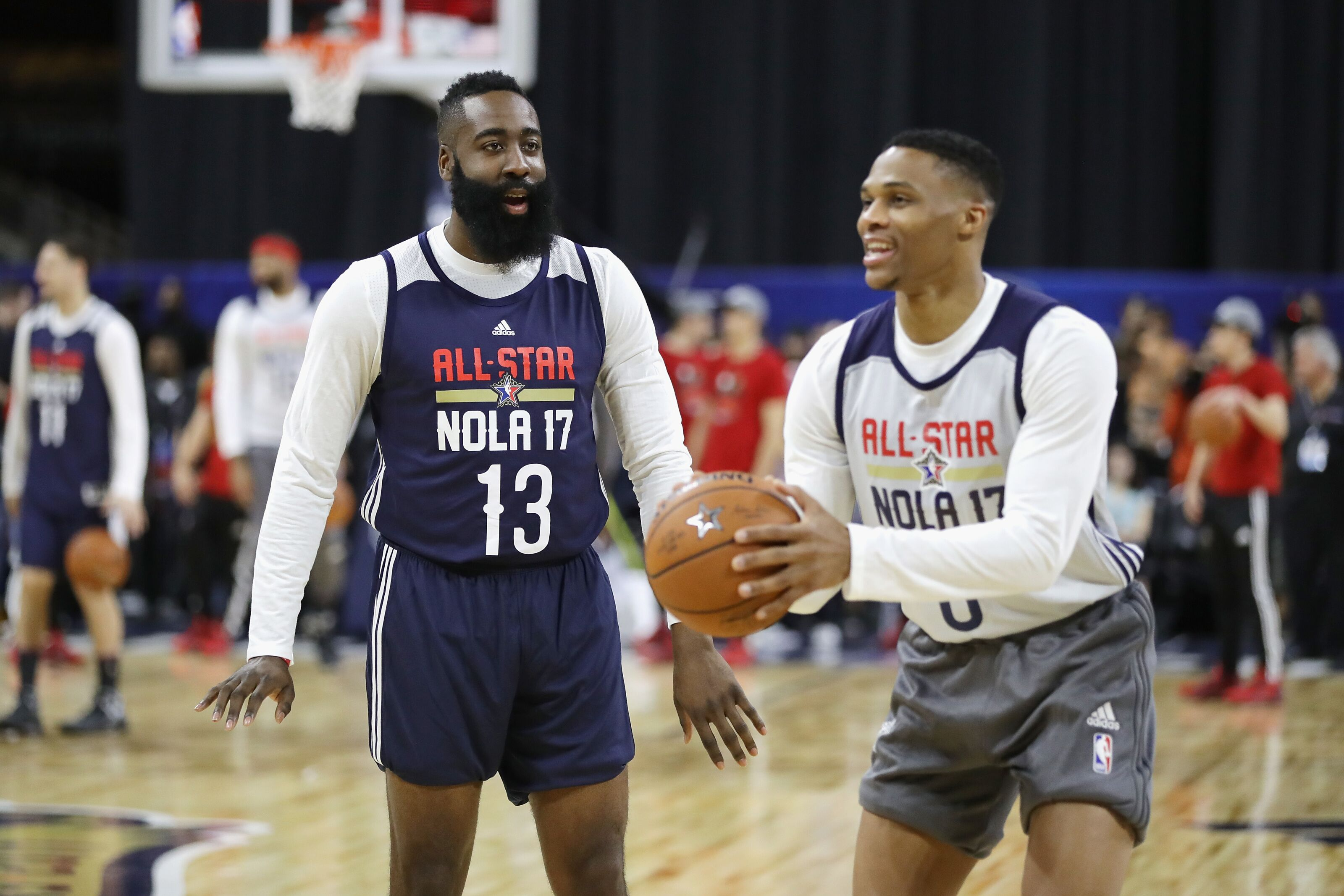 e9e428b694c5 NBA Player Comparison  Russell Westbrook vs. James Harden