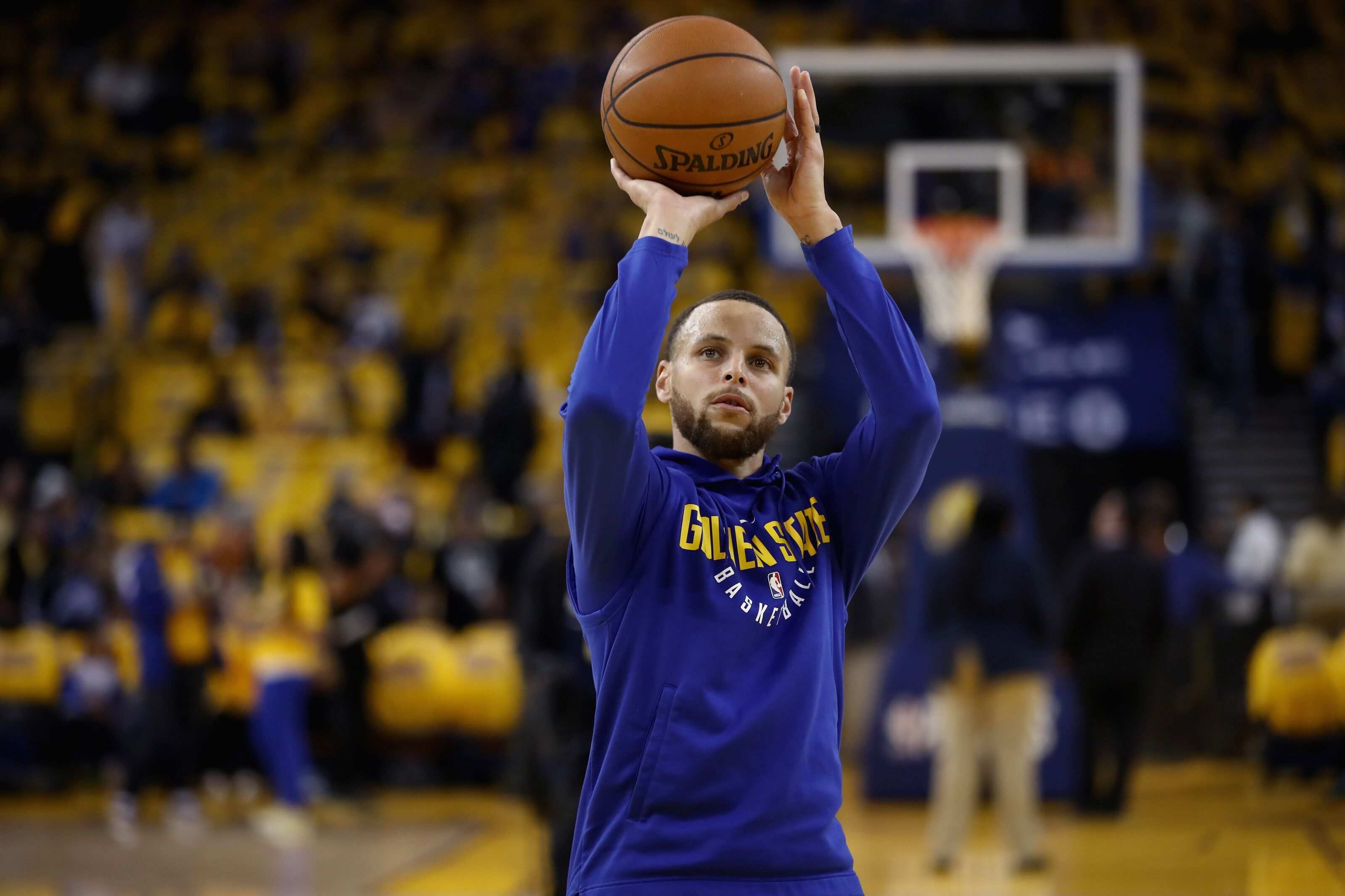 2faa508de69 NBA Rumors  Stephen Curry eyeing a return for Game 2 vs. Pelicans