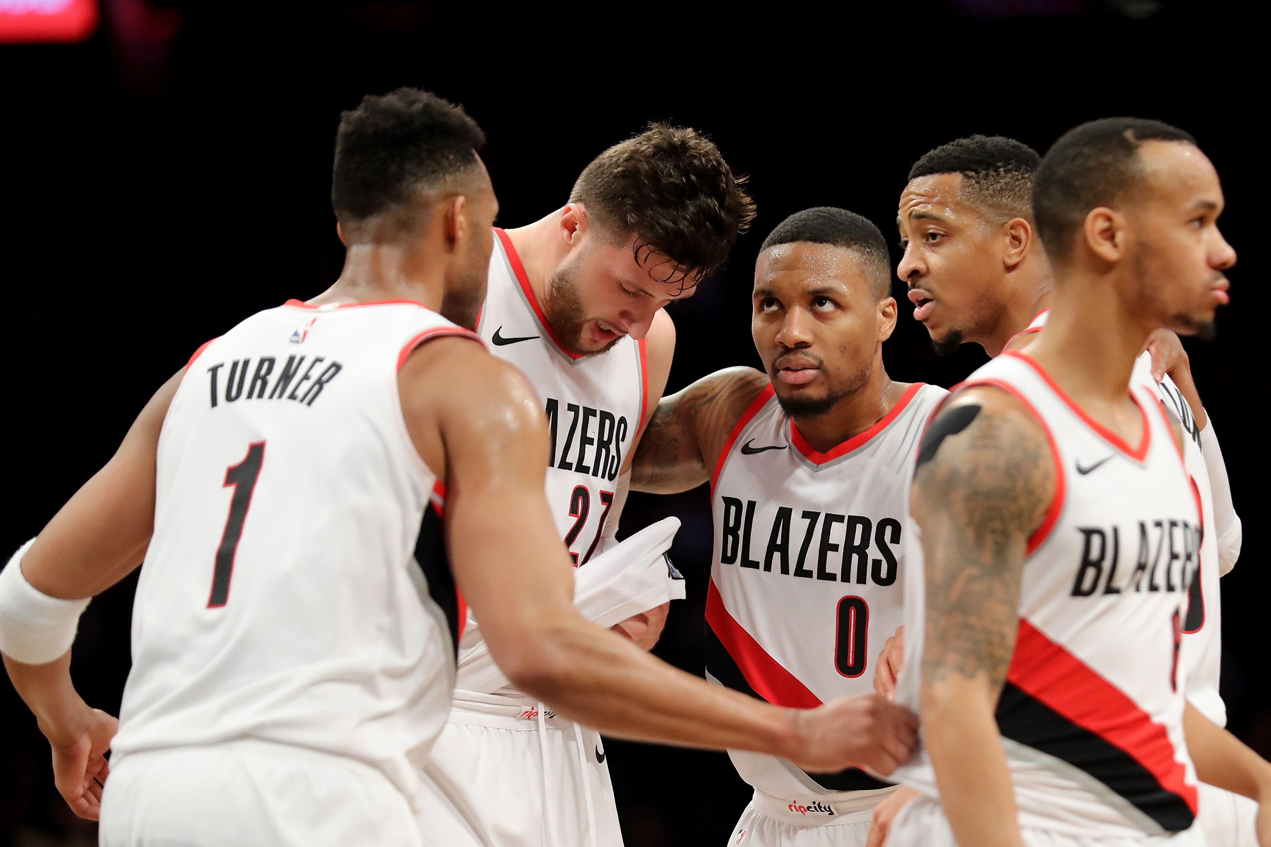 best service 76974 29a44 Portland Trail Blazers  Wrapping up the 2018 NBA offseason