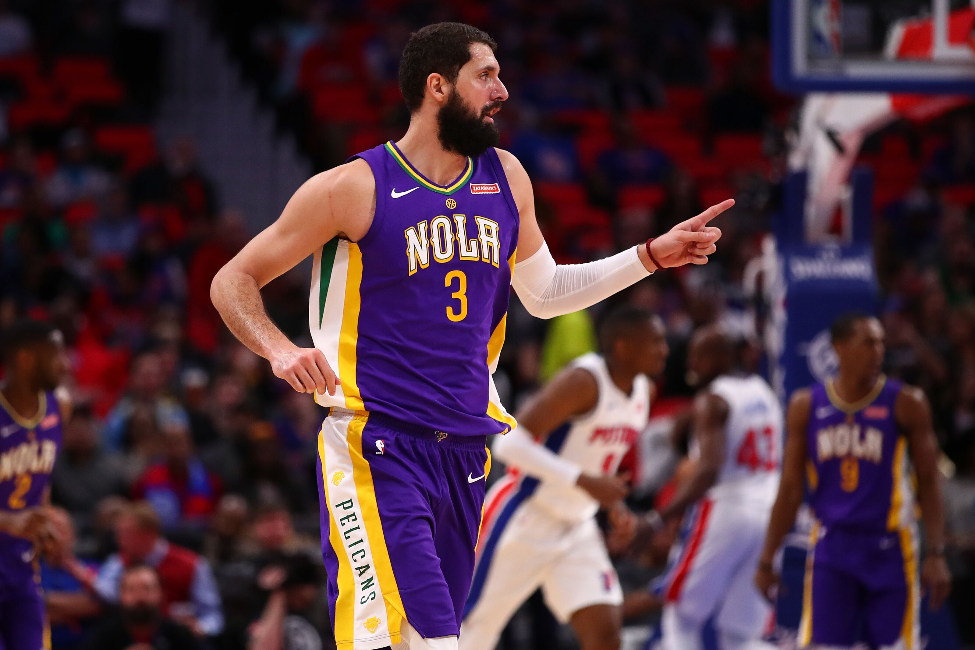 Image result for nikola mirotic pelicans