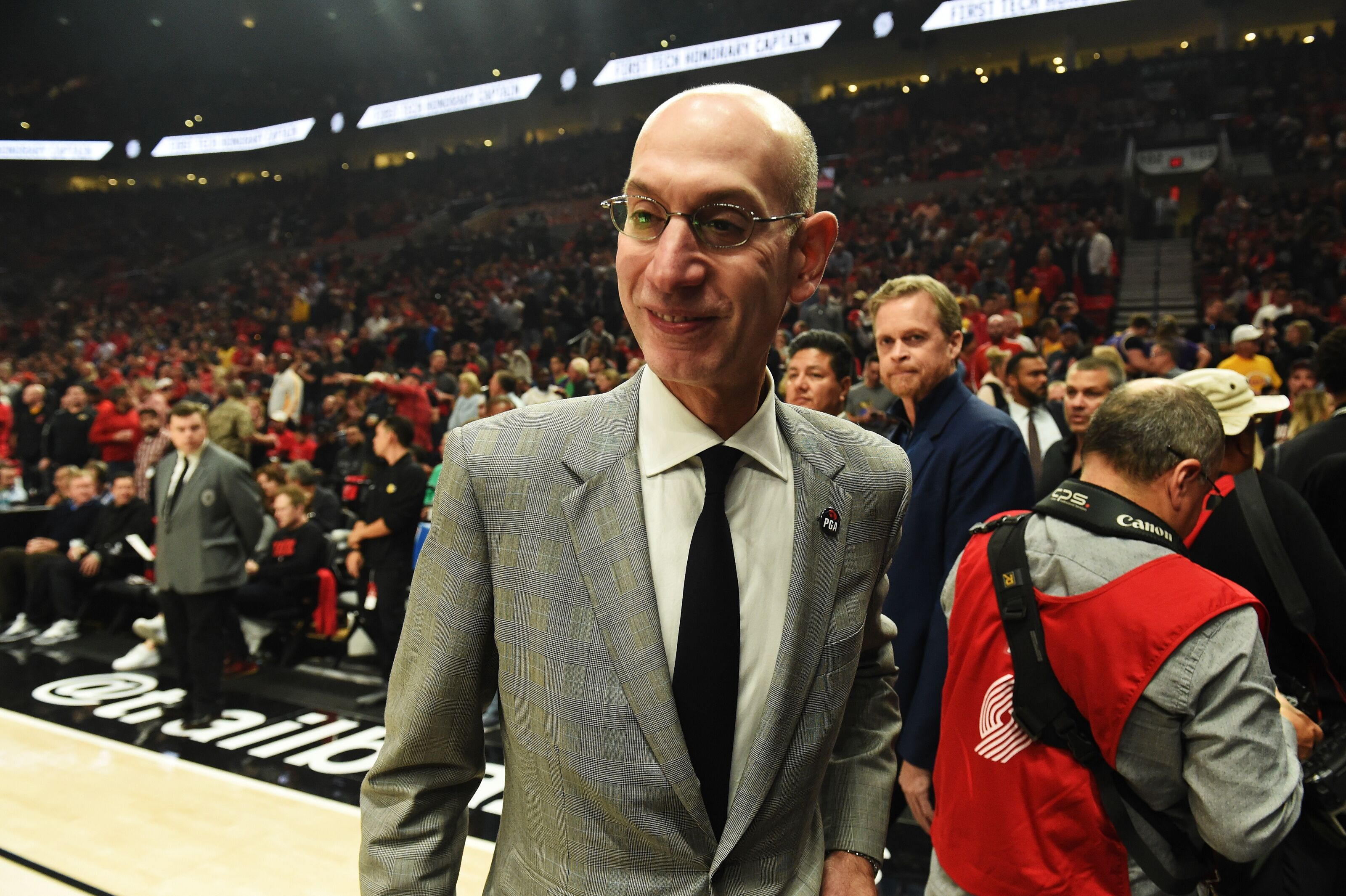NBA: Adam Silver and the terrible, horrible, no good, very bad week