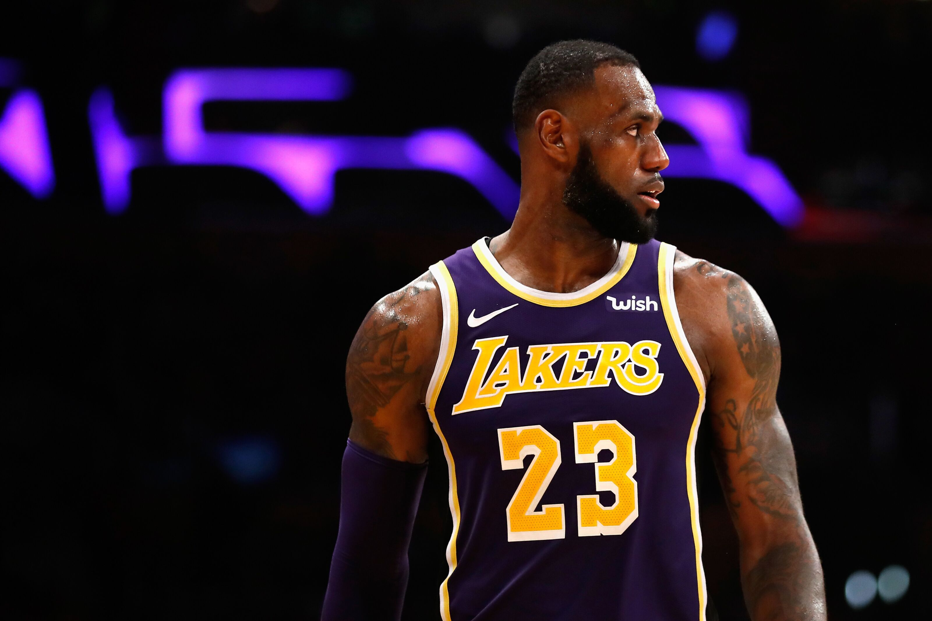 689b56d7c0e5 Los Angeles Lakers: LeBron James thinks he's the NBA's GOAT