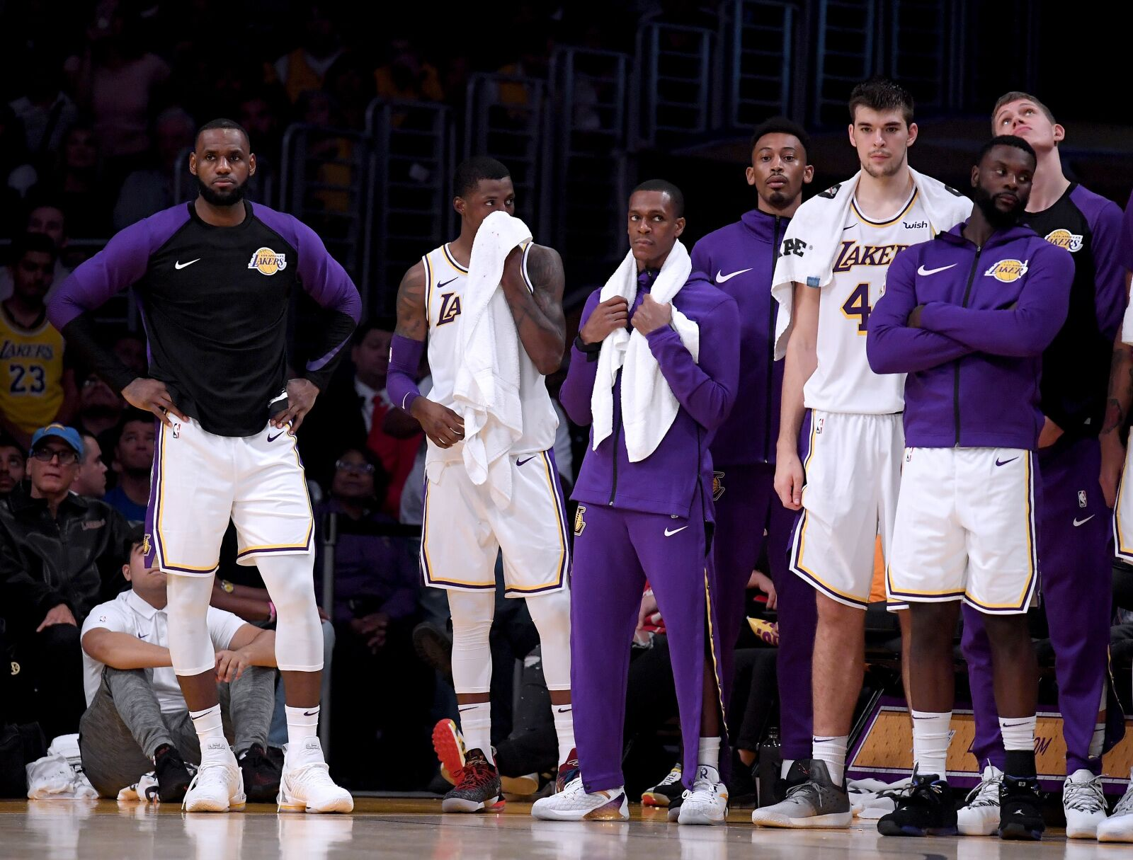 a9033c6e7d3b Los Angeles Lakers  The struggles started with Paul George in 2017