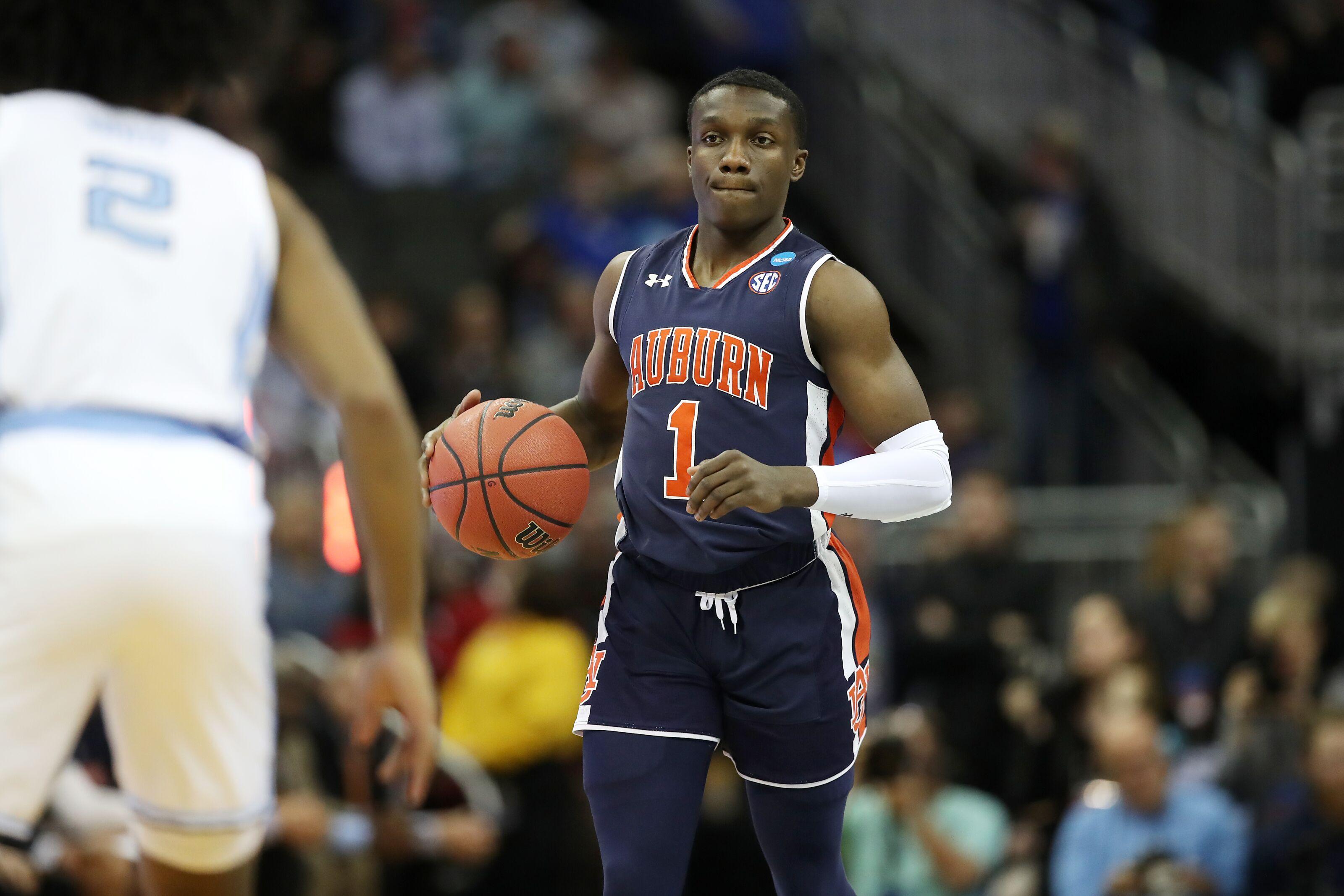 Nba Draft Auburn S Jared Harper Has Made A Name For Himself