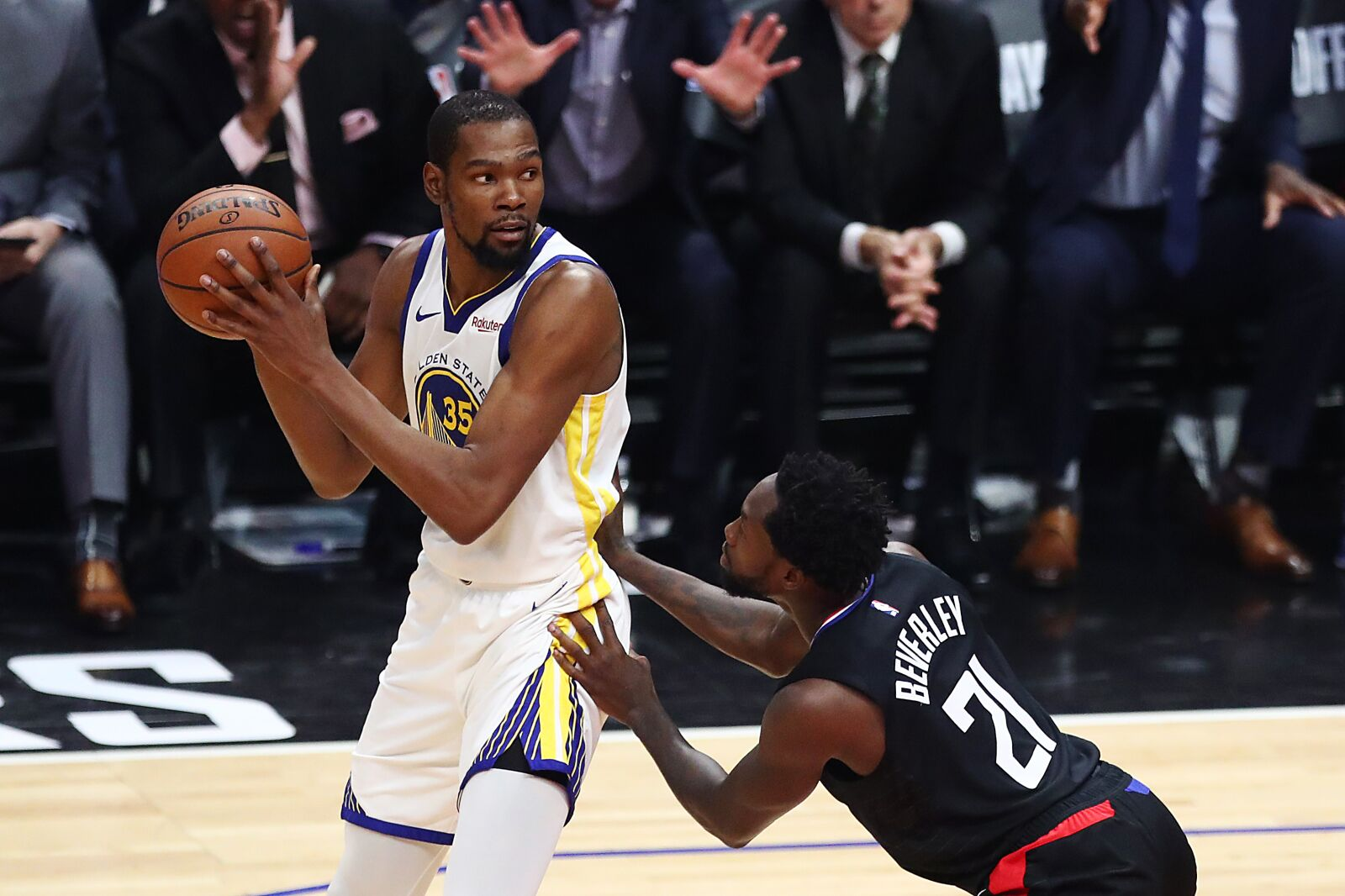 b3a0426a2230 Golden State Warriors  Behind KD