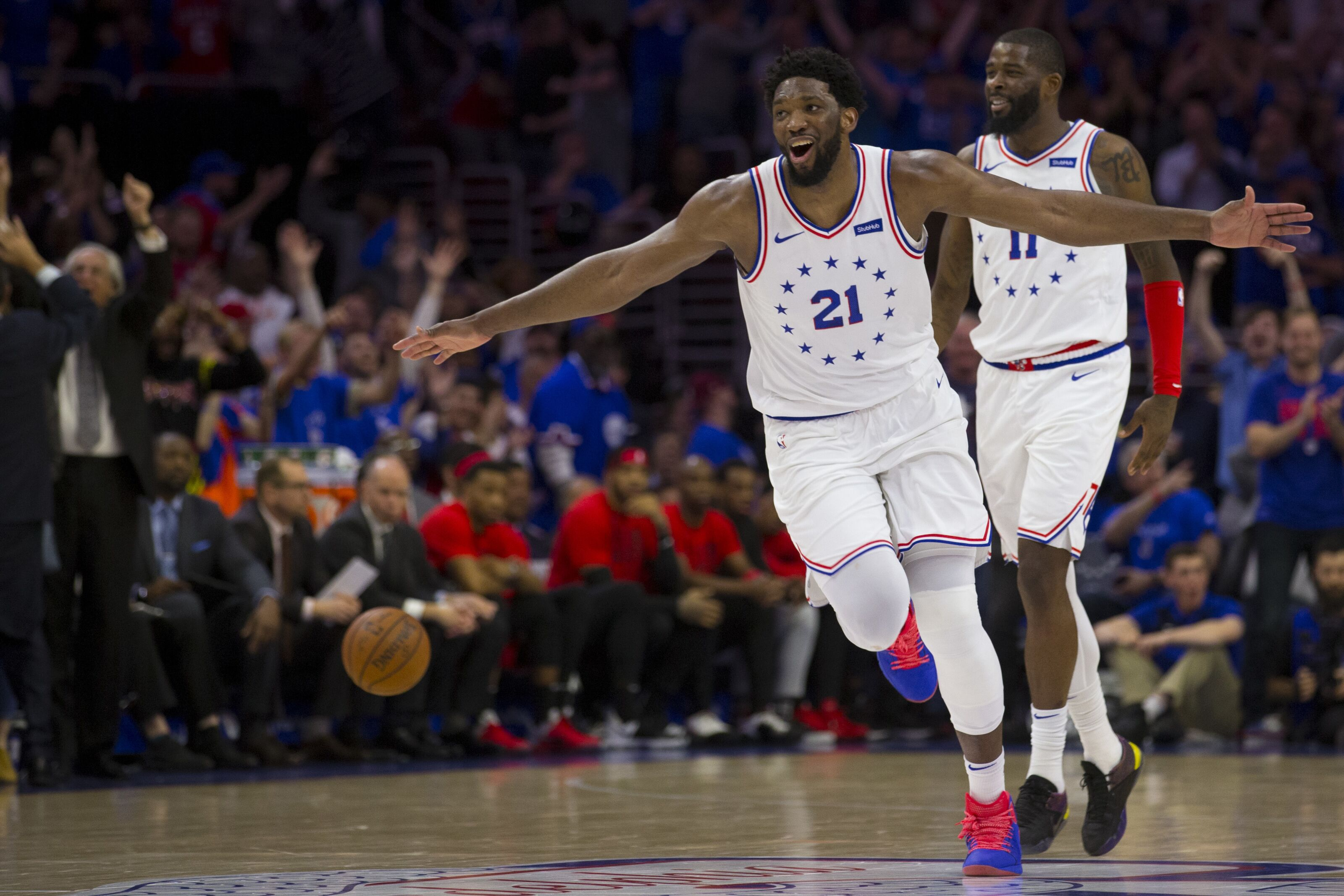 6adda6e56820 Joel Embiid s postseason performance proves he s not a top 10 player - yet