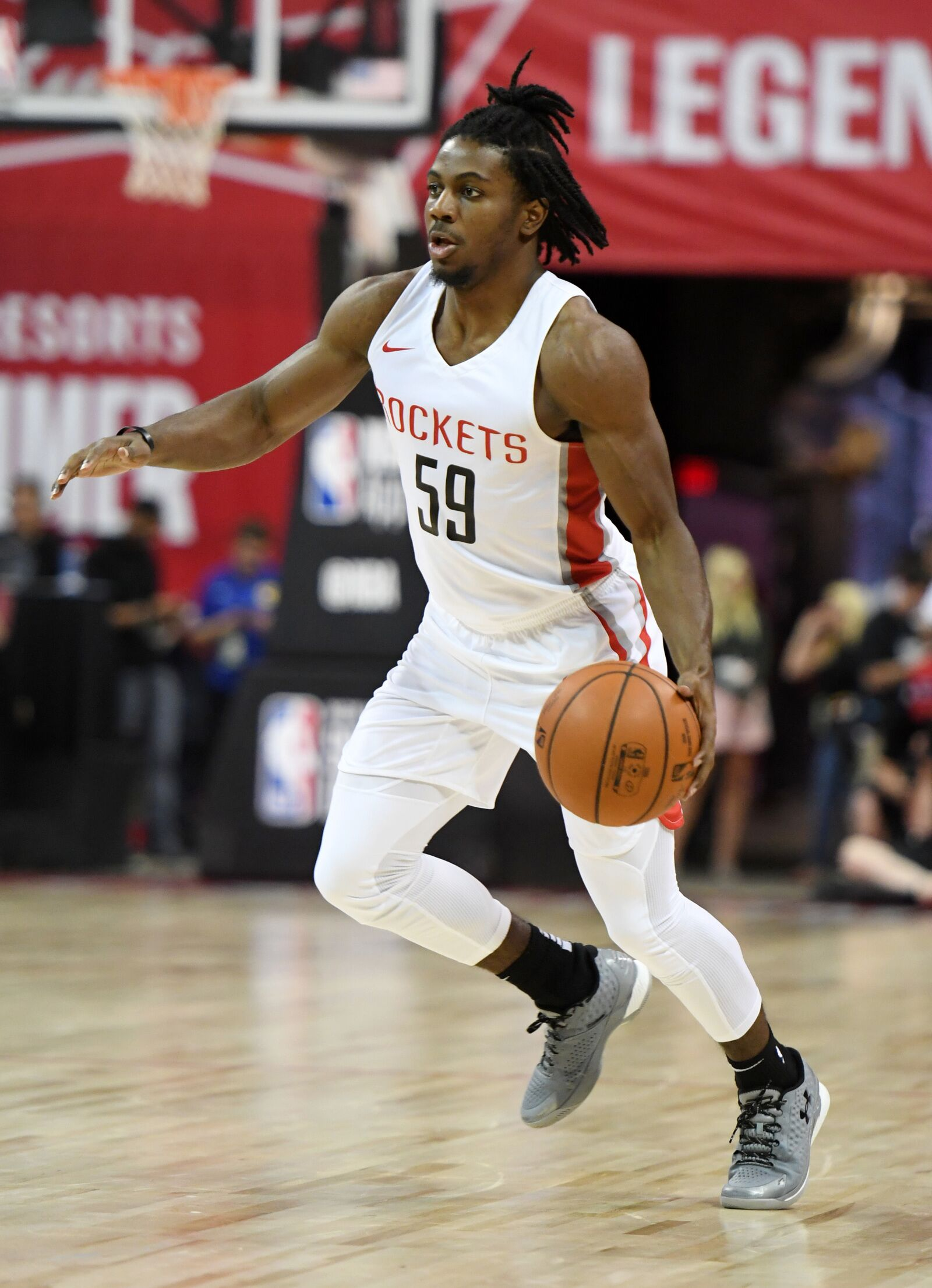 Houston Rockets Chris Clemons Is Making Preseason Waves