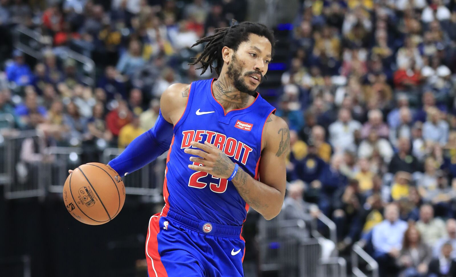 Detroit Pistons: Trade market for Derrick Rose is heating up