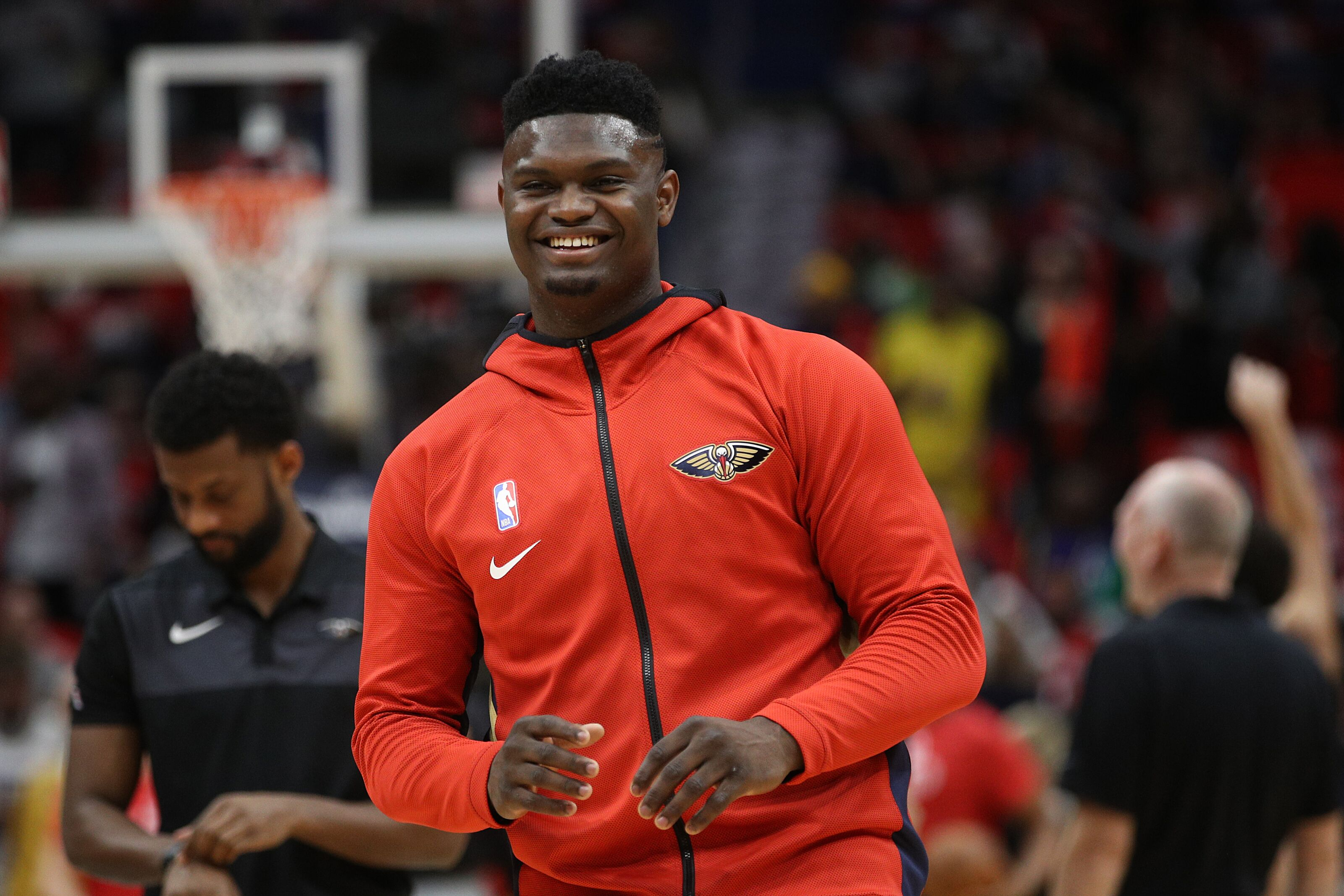 Zion Williamson continues to dominate, showing glimpses of greatness