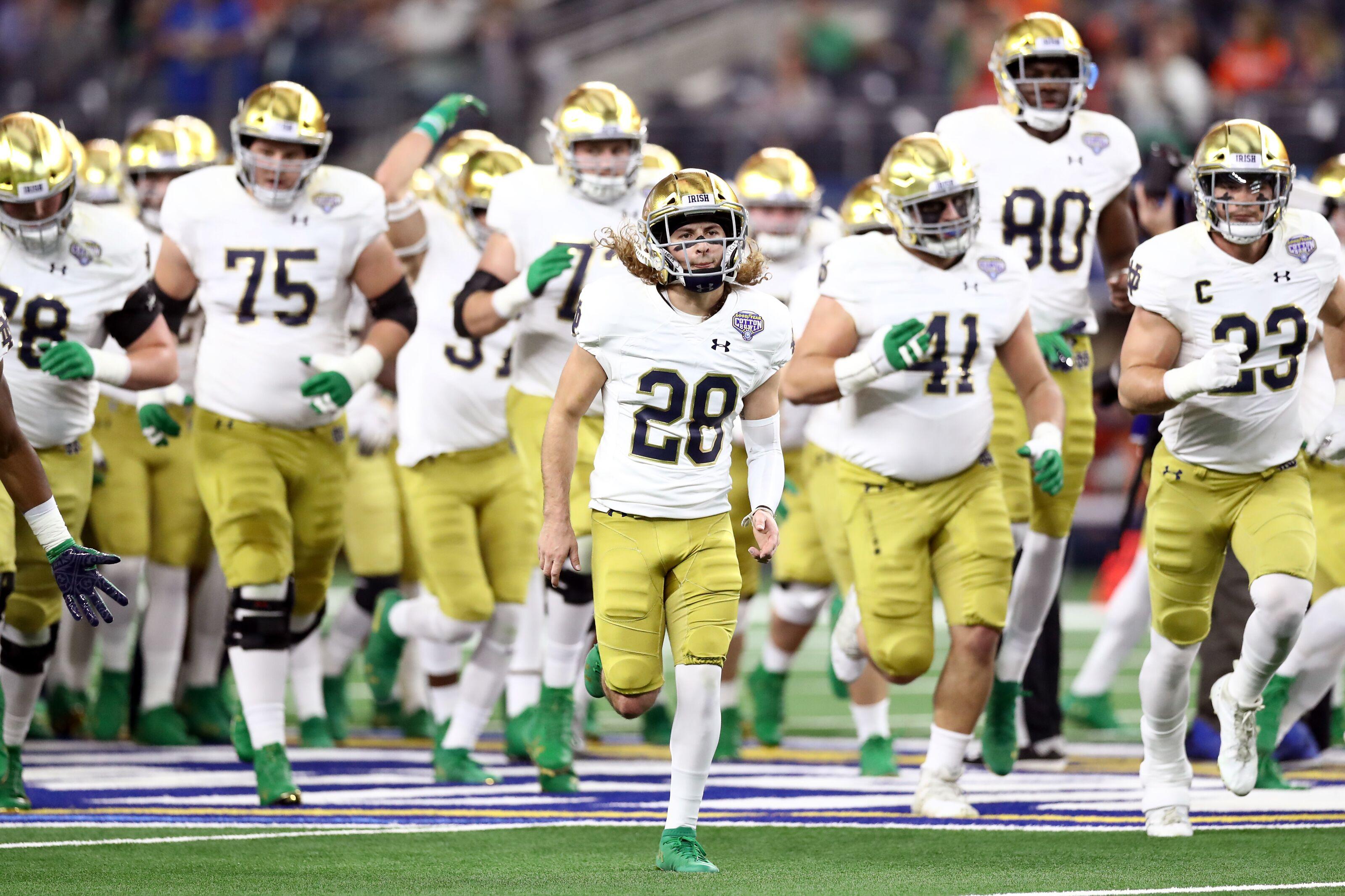 Best case, worst case scenarios for Notre Dame football in 2019