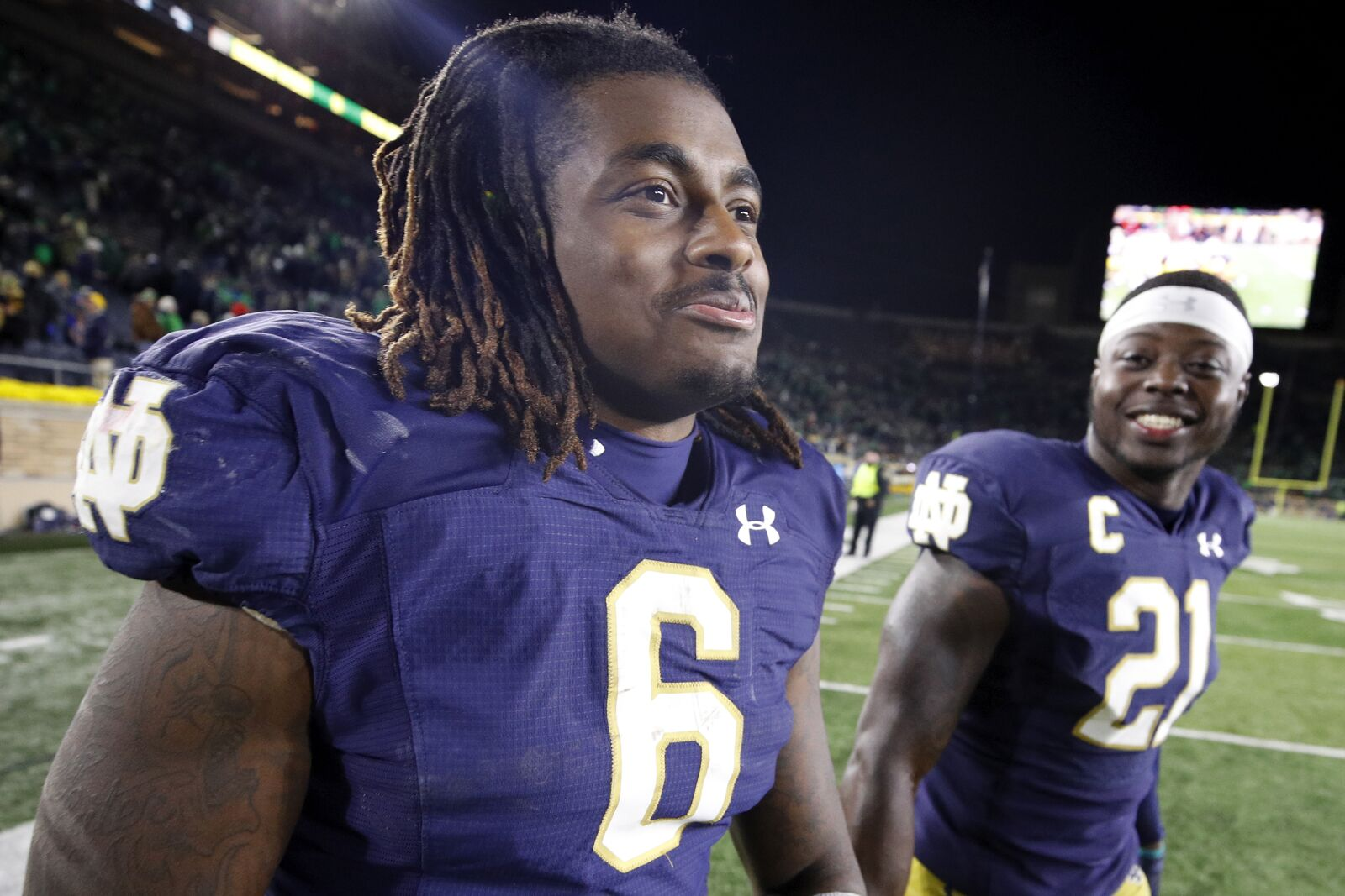 Notre Dame: Tony Jones Jr. was Offensive Player of the Game vs. USC