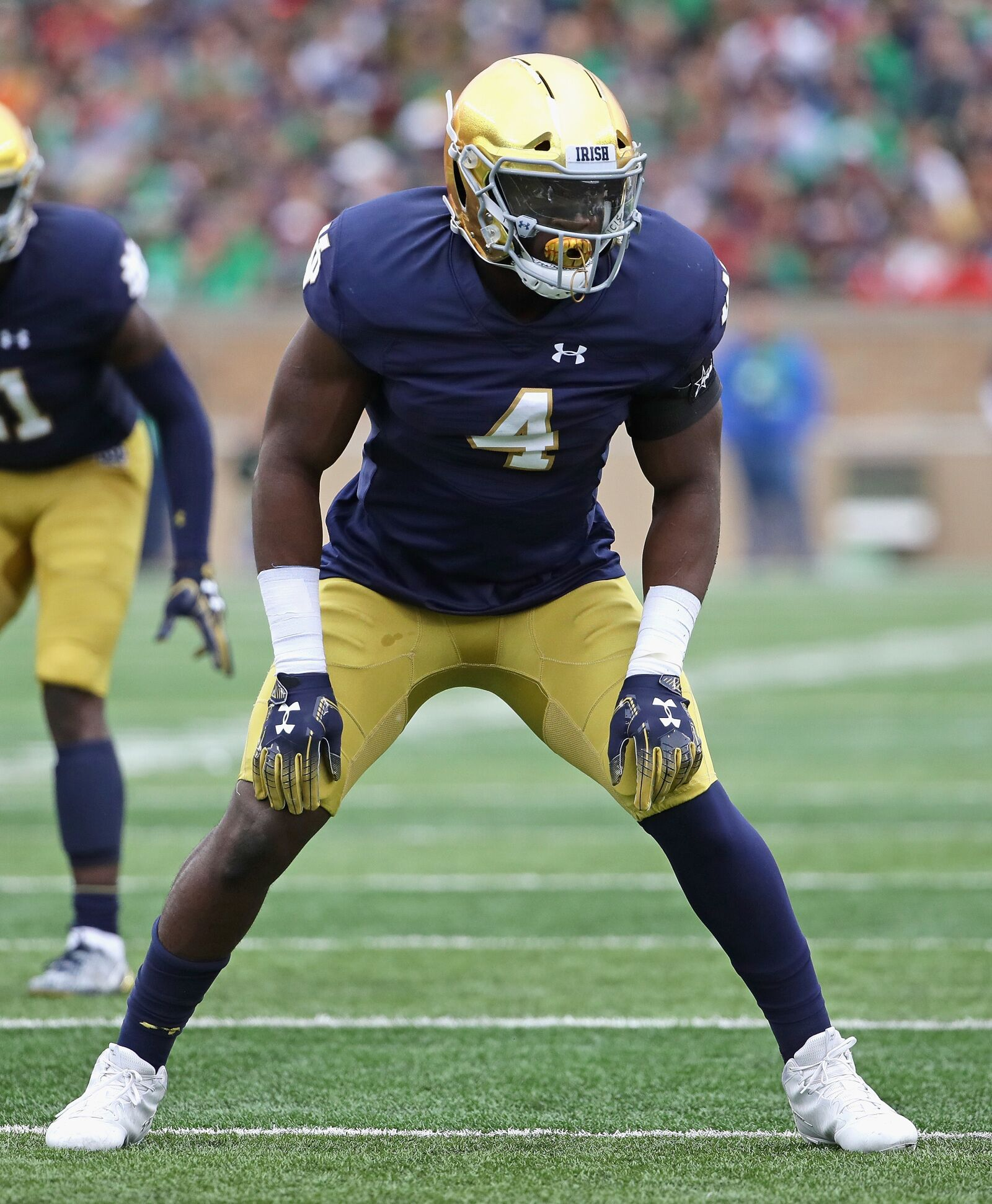 online store c1d57 d97fc Notre Dame Football: Te'Von Coney is Defensive Play of the ...