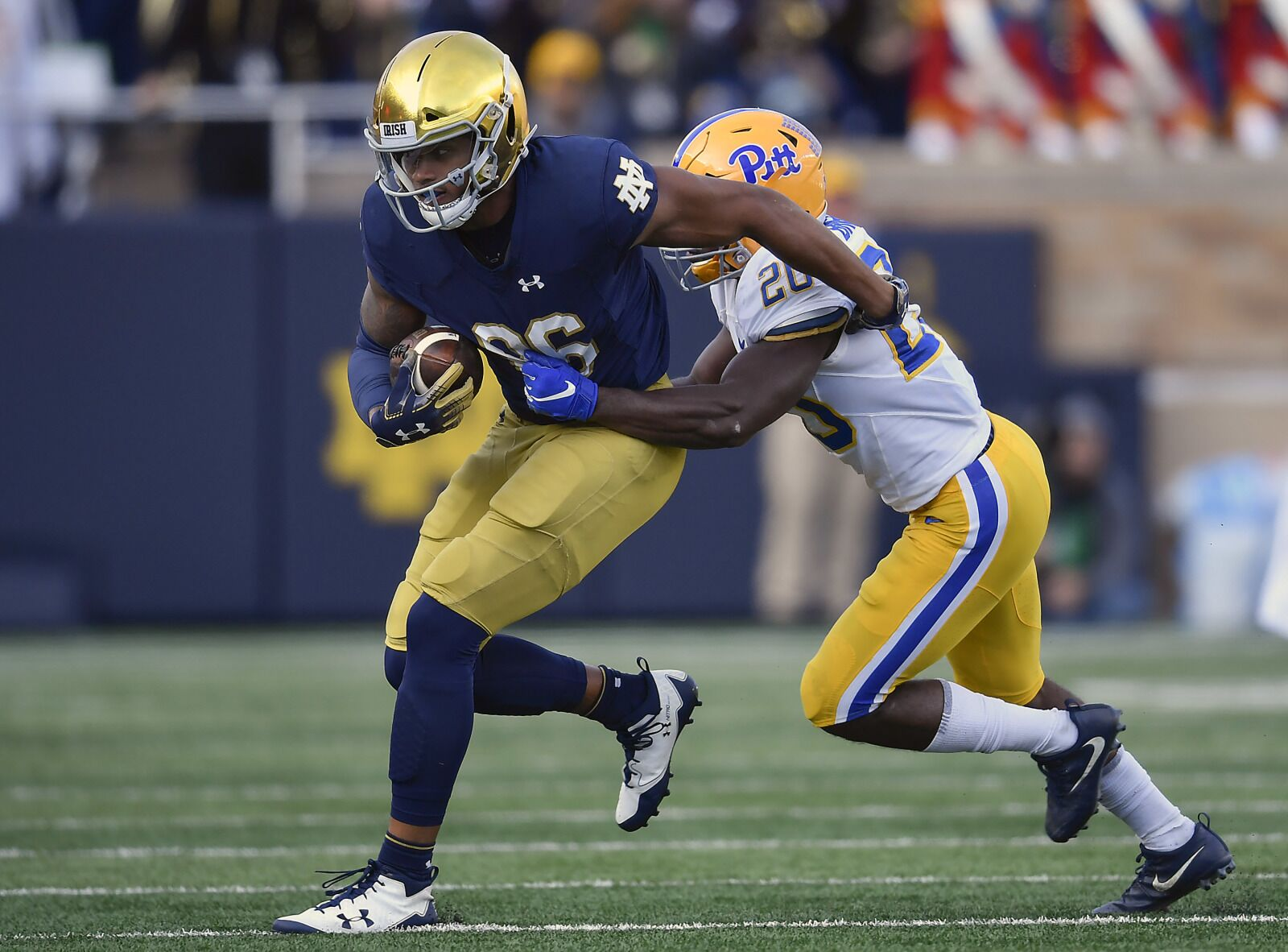 Notre Dame Draft Watch: Alize Mack makes sense for Patriots