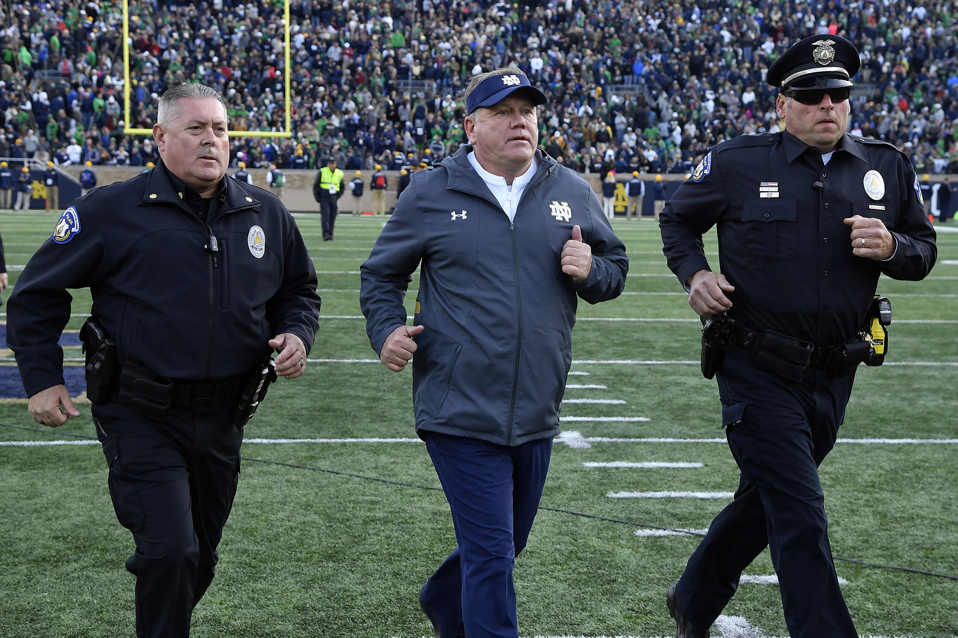 Notre Dame Football: Style points don't matter for Irish