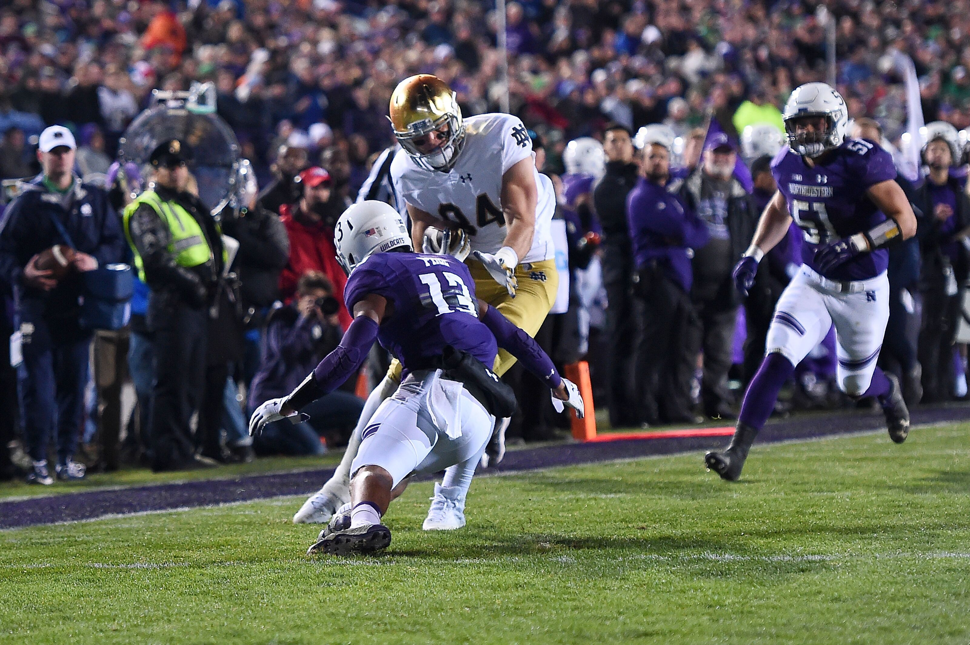 b0aa5f3cf15 Notre Dame Football: Cole Kmet Could Cash in on NFL's Tight End Trend