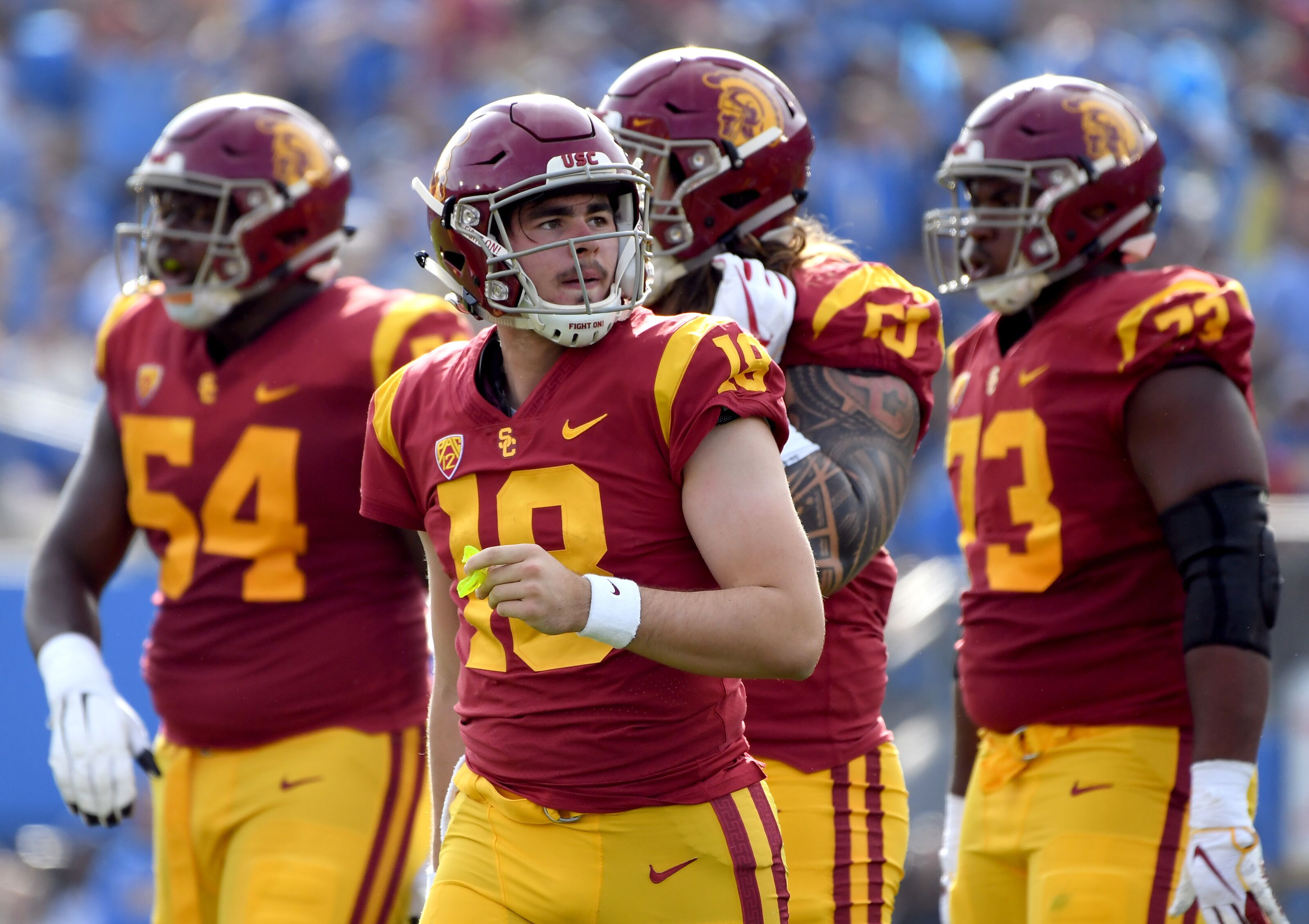 444097c2404 Notre Dame Football: Five Problematic Players for the USC Trojans