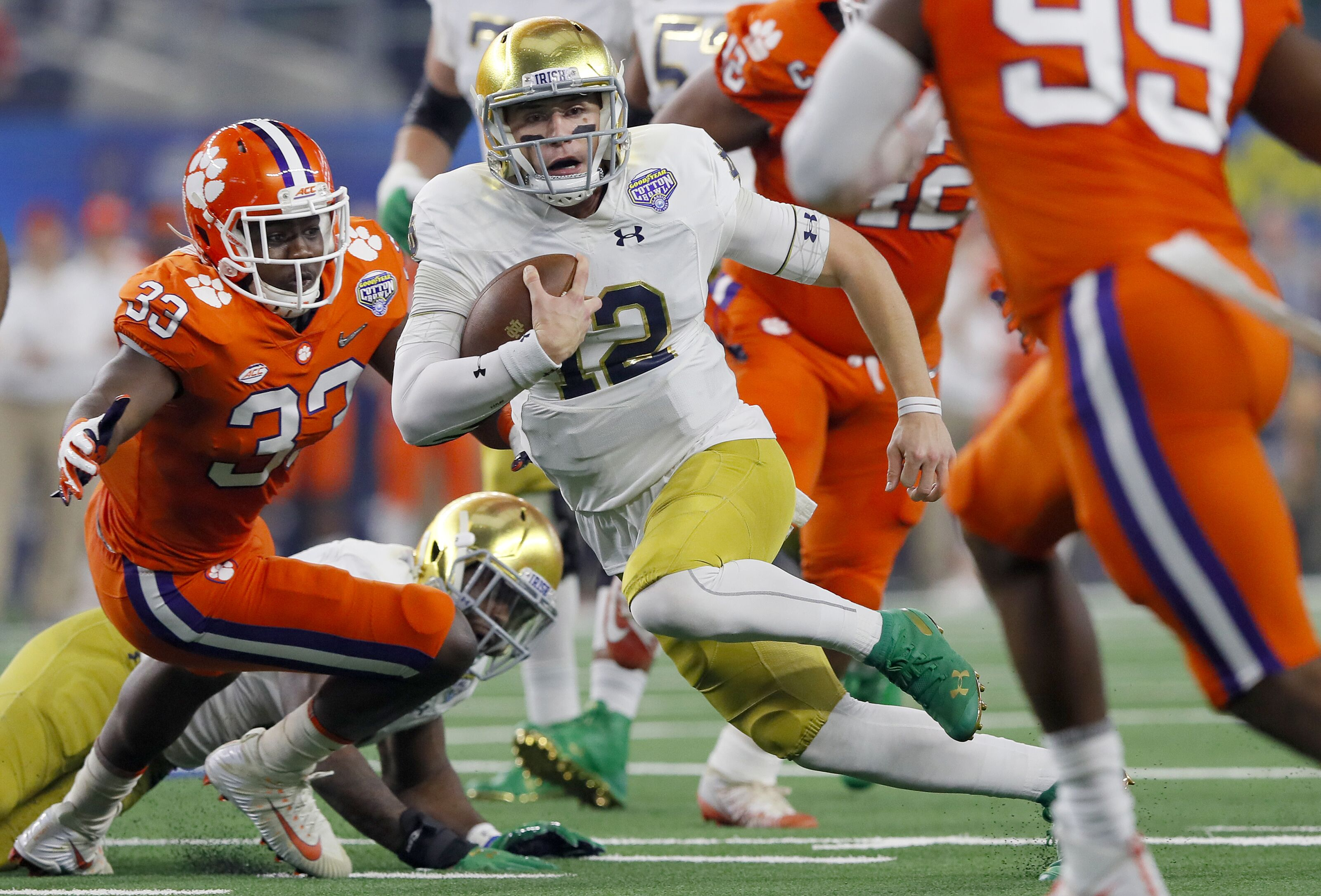 Notre Dame Football: Where Does Ian Book Rank Among College QBs?
