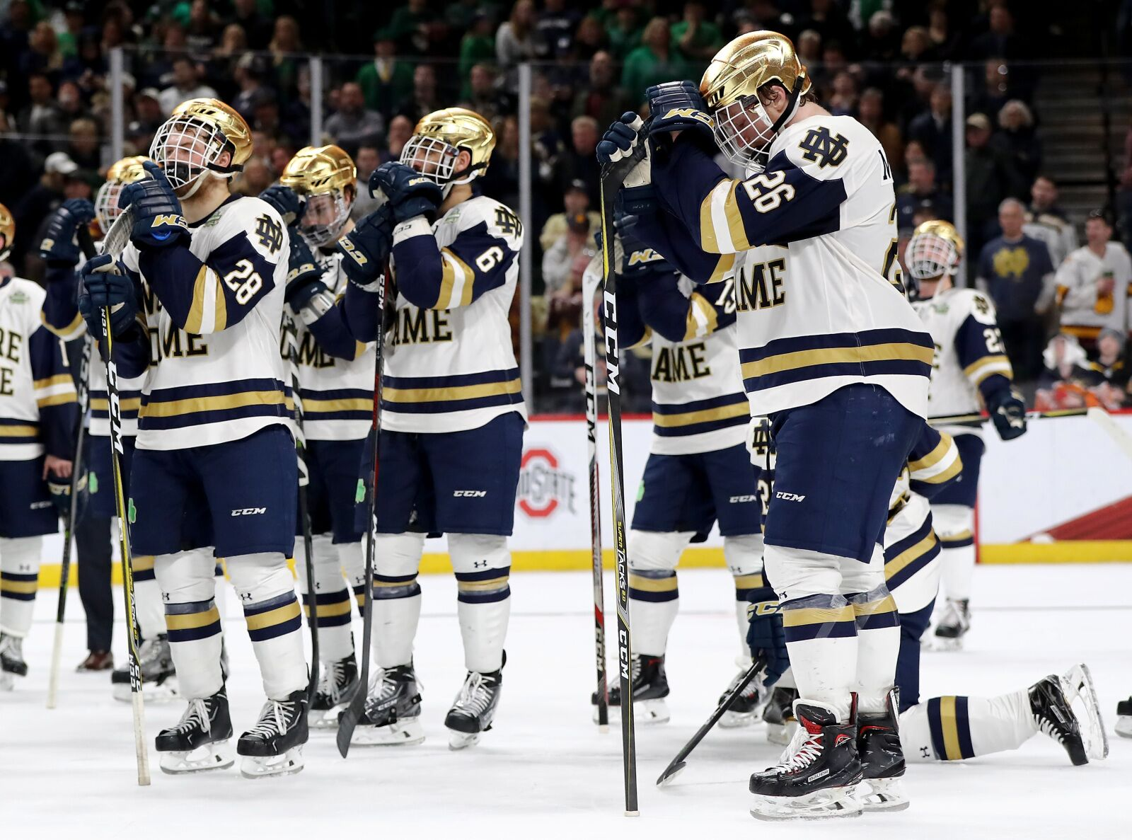 Notre Dame Hockey in Danger of Missing NCAA Tournament