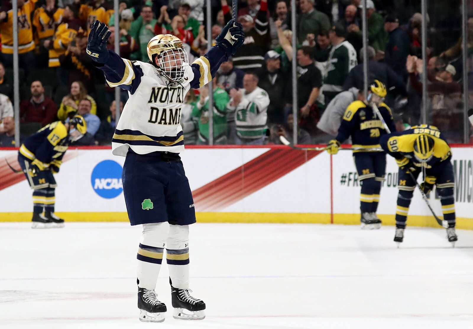 Notre Dame Hockey: Irish Take on Penn State in Big Ten Championship