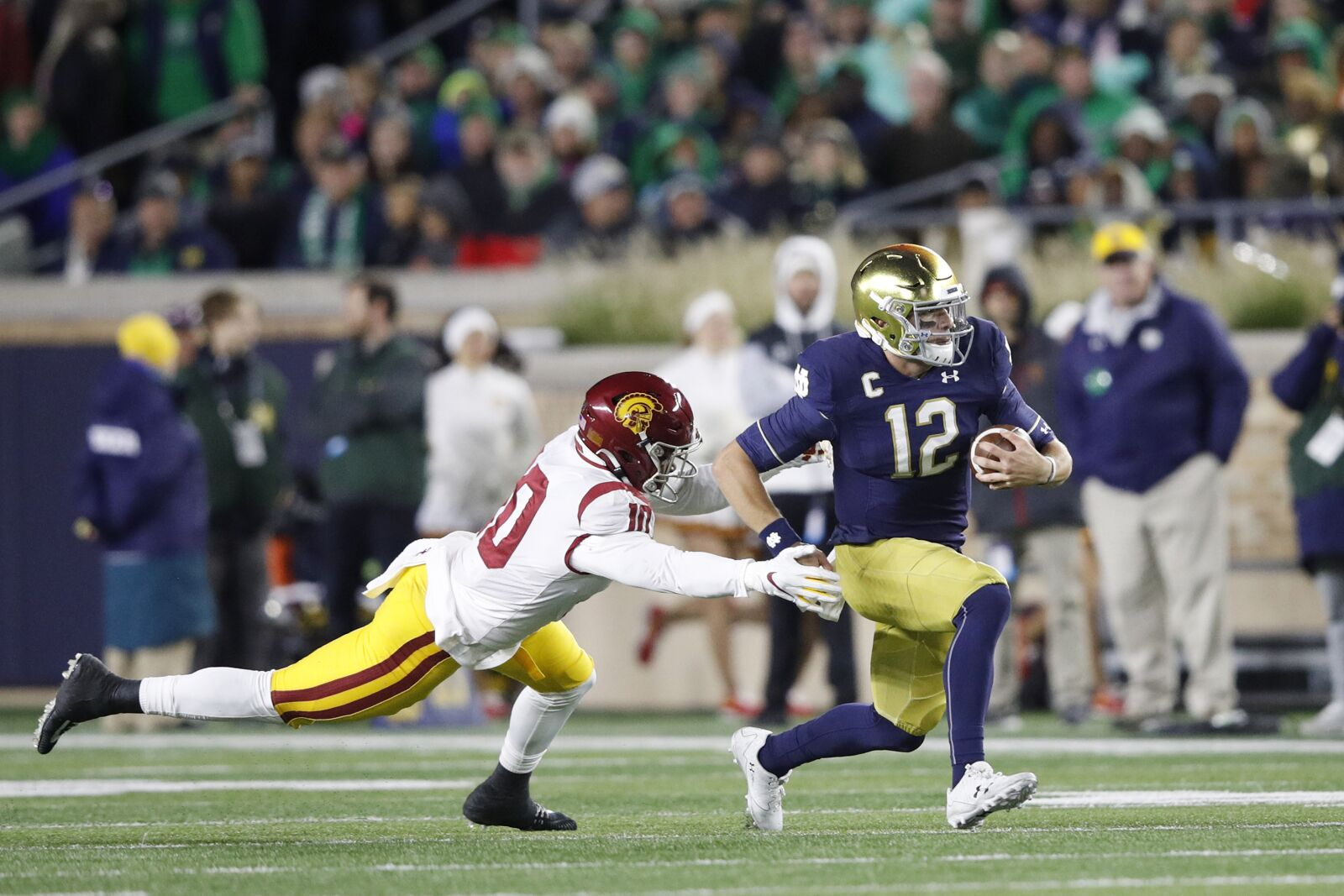 Notre Dame: The play that changed everything vs. USC