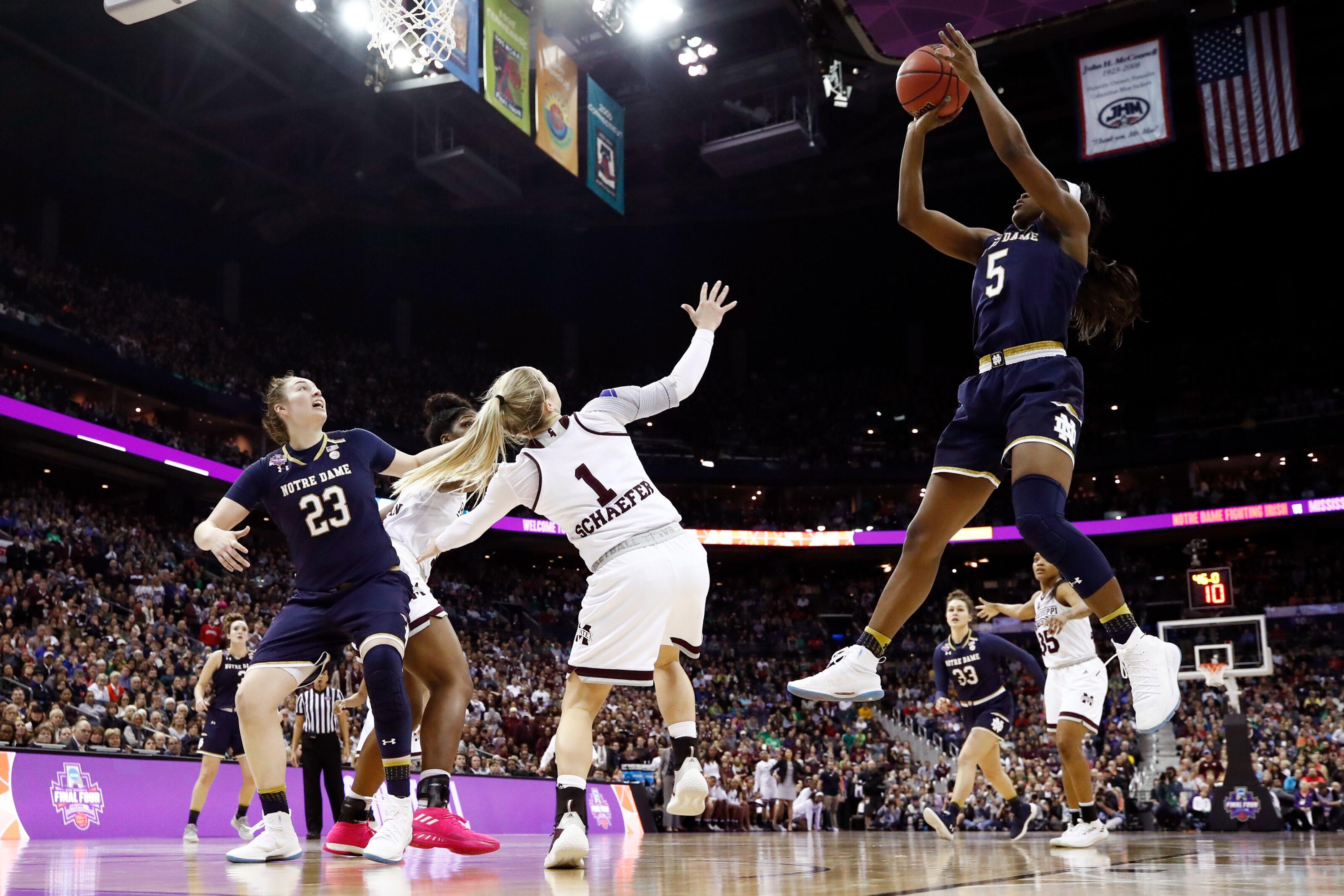 Notre Dame Women's Basketball: Irish Begin Title Defense with Bethune-Cookman