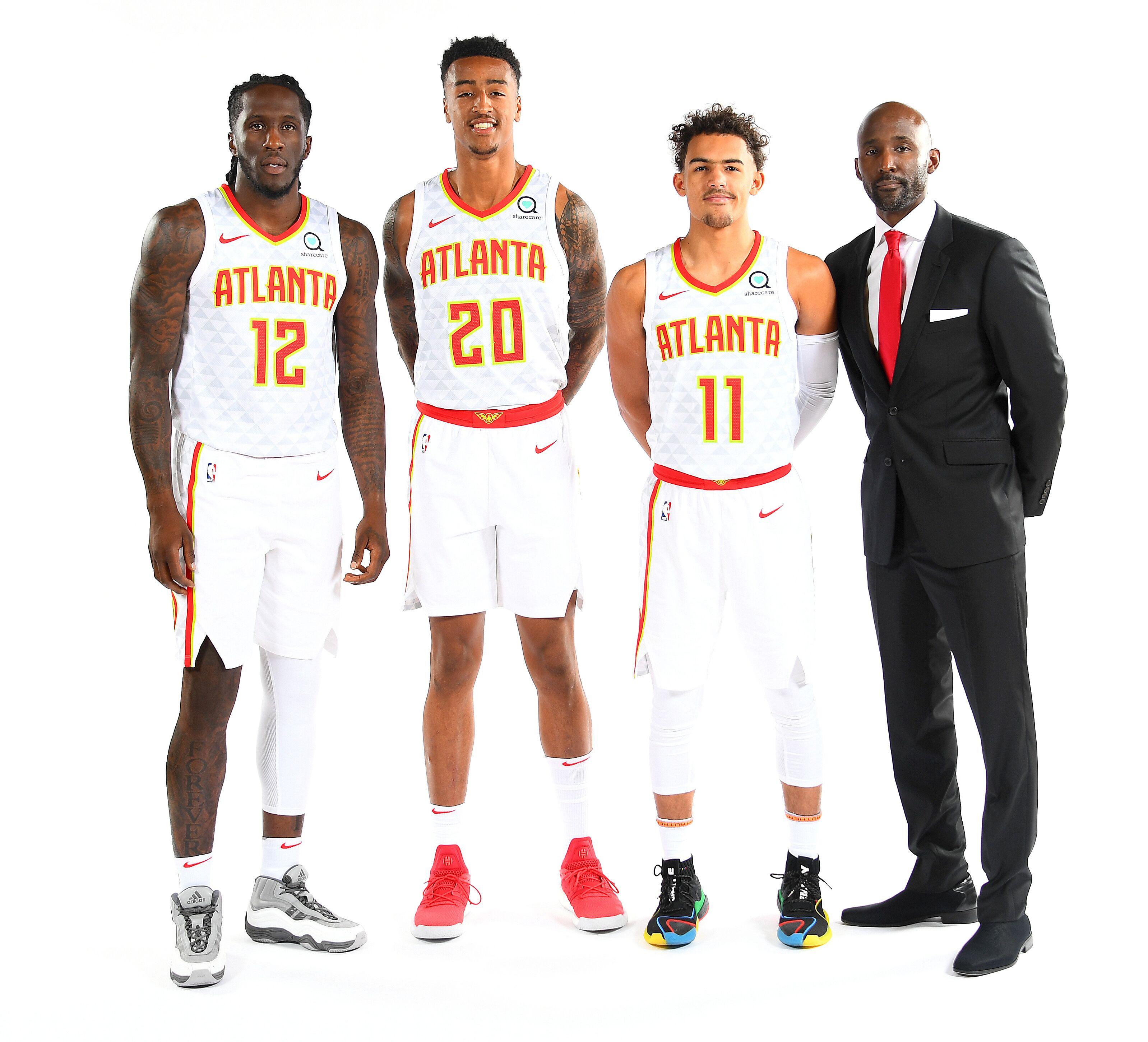 pretty nice c13ea 1733e Atlanta Hawks Comparisons for Trae Young, John Collins ...