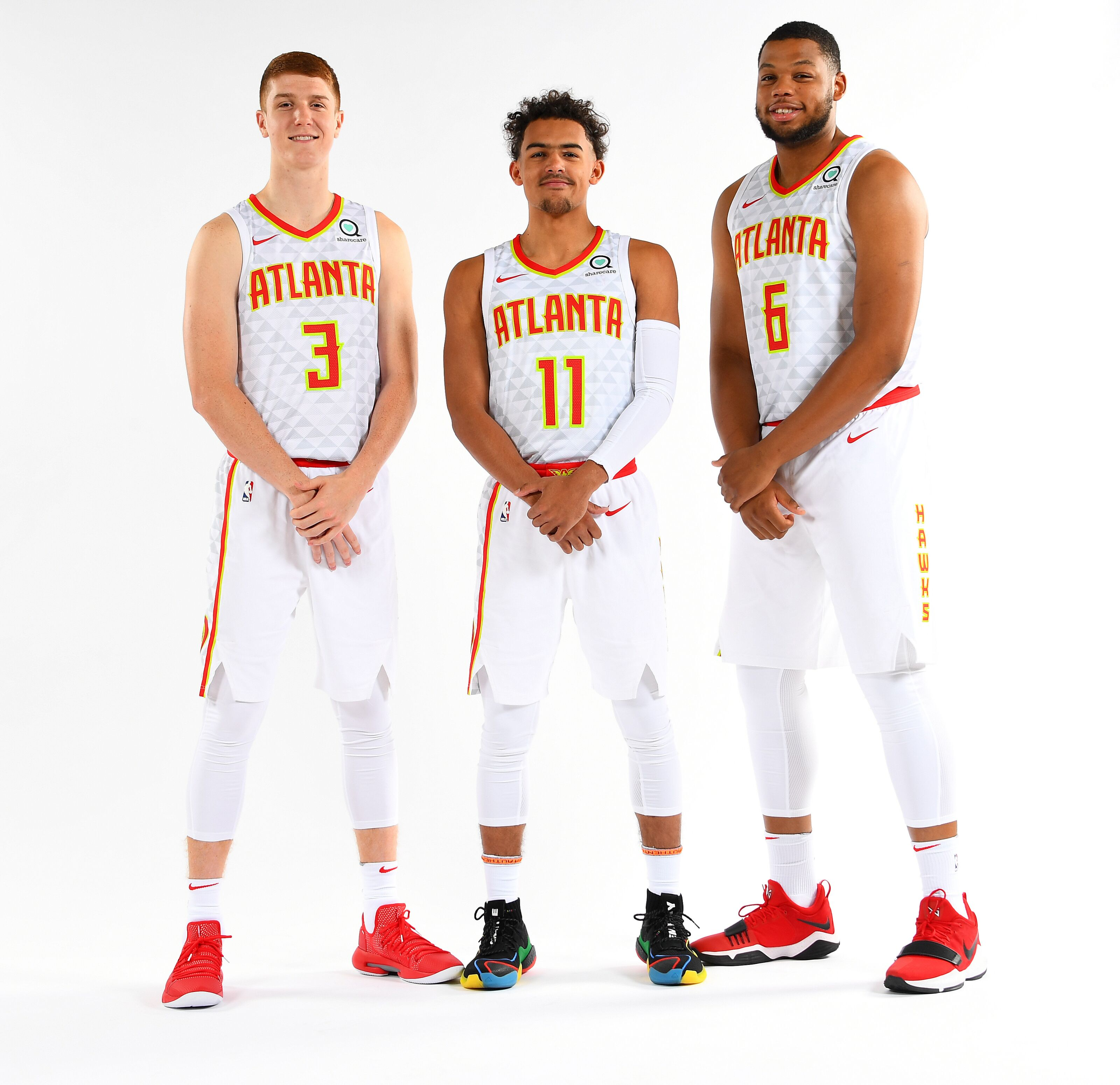 Atlanta Hawks: Trae Young, Kevin Huerter & Omari Spellman