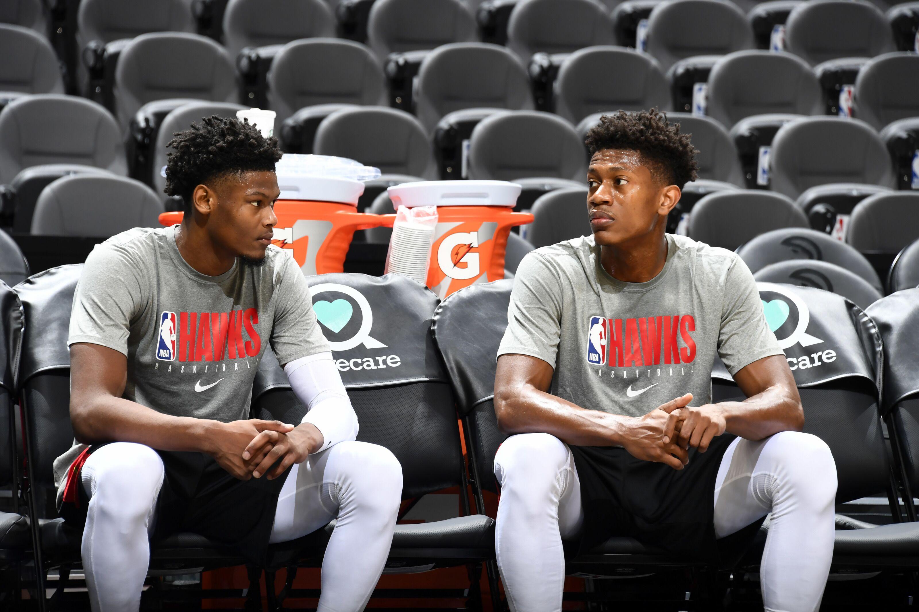 Atlanta Hawks' Tale of Two Rookies