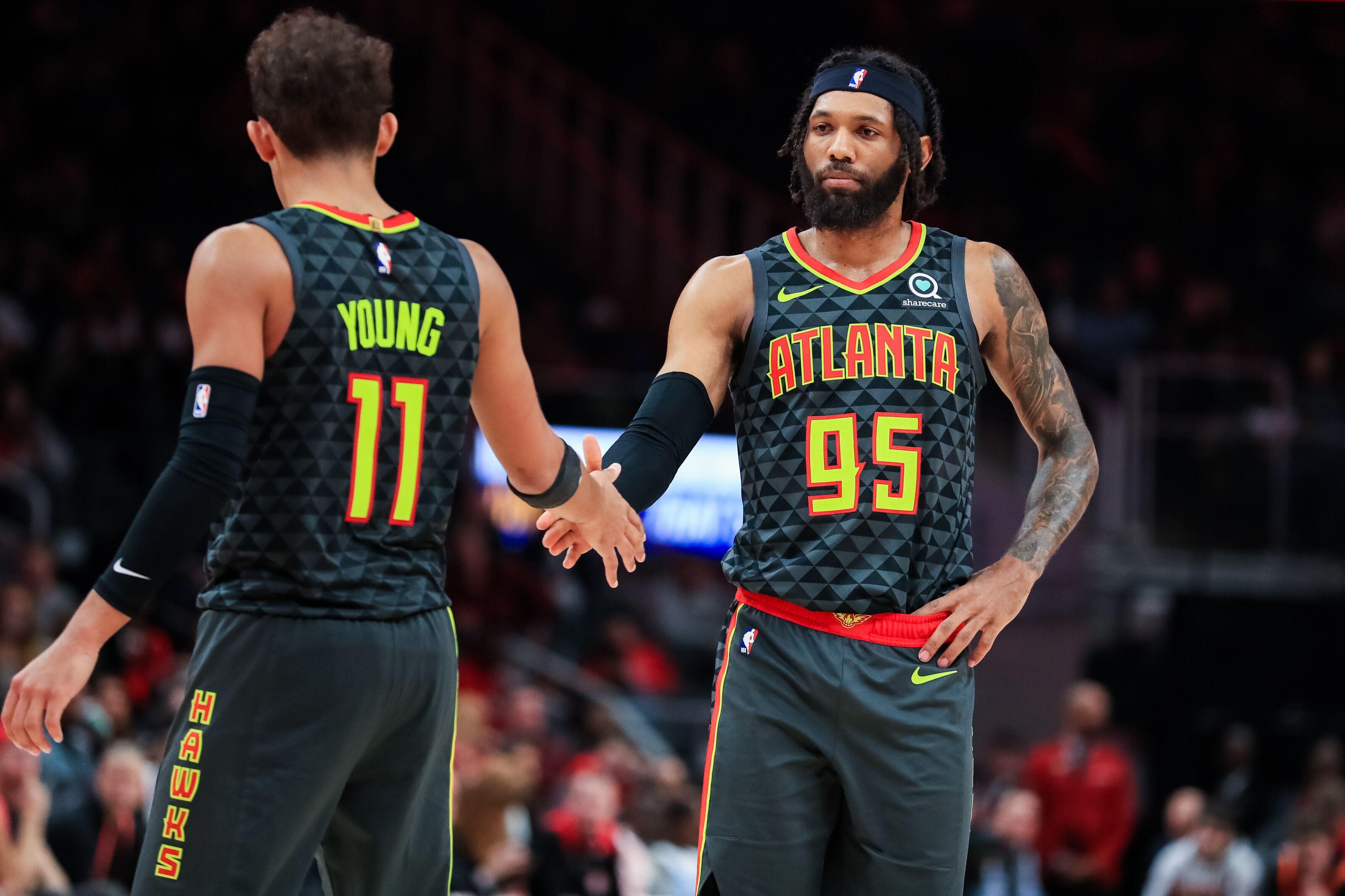 Atlanta Hawks' Player Awards for November