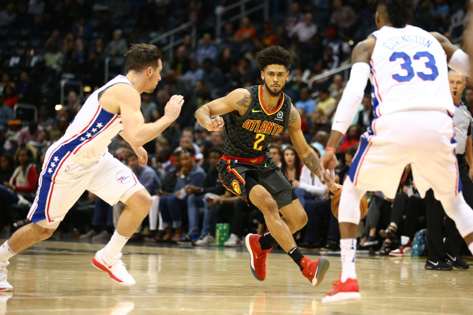 Hawks Lose Season Finale to 76ers 121-113