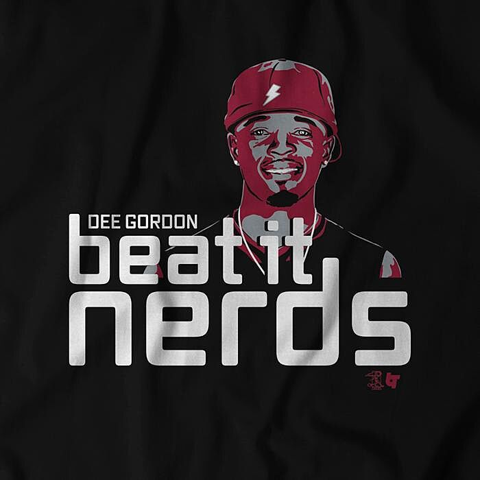 newest 118bd c4436 Seattle Mariners fans need this Dee Gordon 'Beat It Nerds' shirt