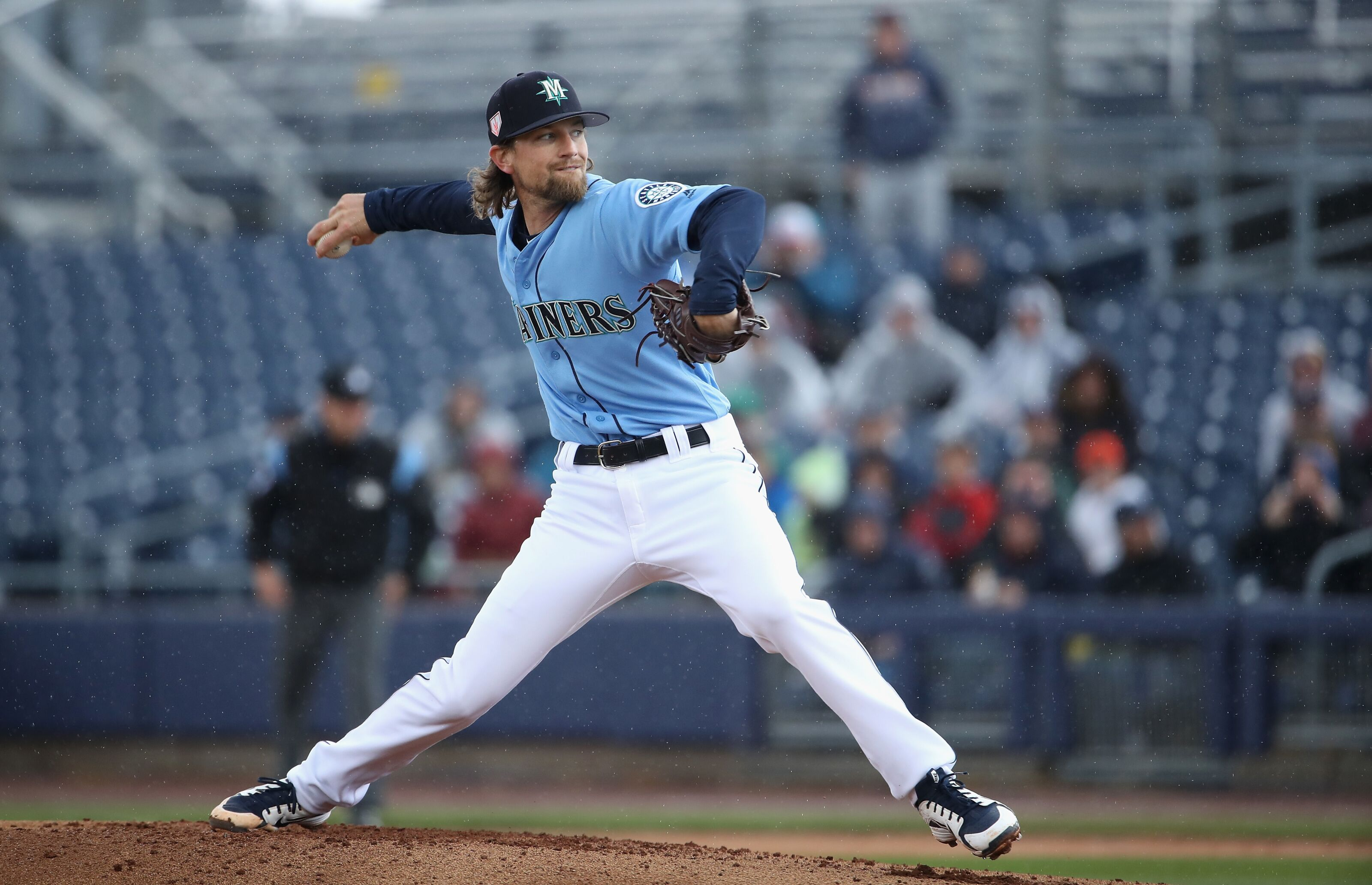a02befaa417d14 Seattle Mariners blow five-run lead, lose 6-5 to Indians