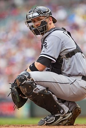 Poll would aj pierzynski solve the white sox catcher issue jun 22 2014 minneapolis mn usa chicago white sox catcher tyler flowers 21 looks at the dugout at target field mandatory credit brad rempel usa mightylinksfo