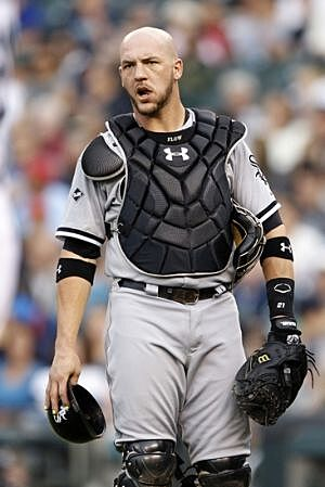 Can tyler flowers fend off the white sox catching depth aug 7 2014 seattle wa usa chicago white sox catcher tyler flowers 21 looks to an umpire following a balk call for the seattle mariners during the mightylinksfo