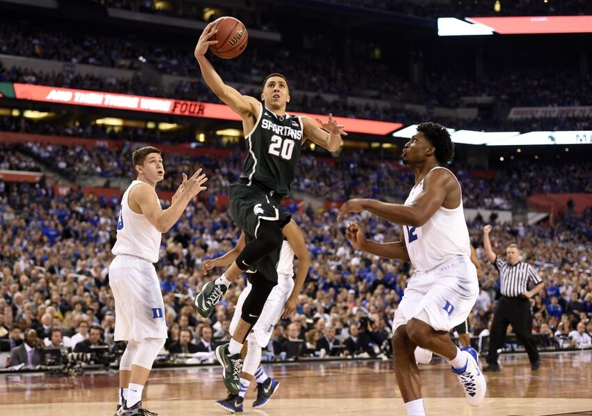 Travis Trice Working Out With The Boston Celtics On Friday