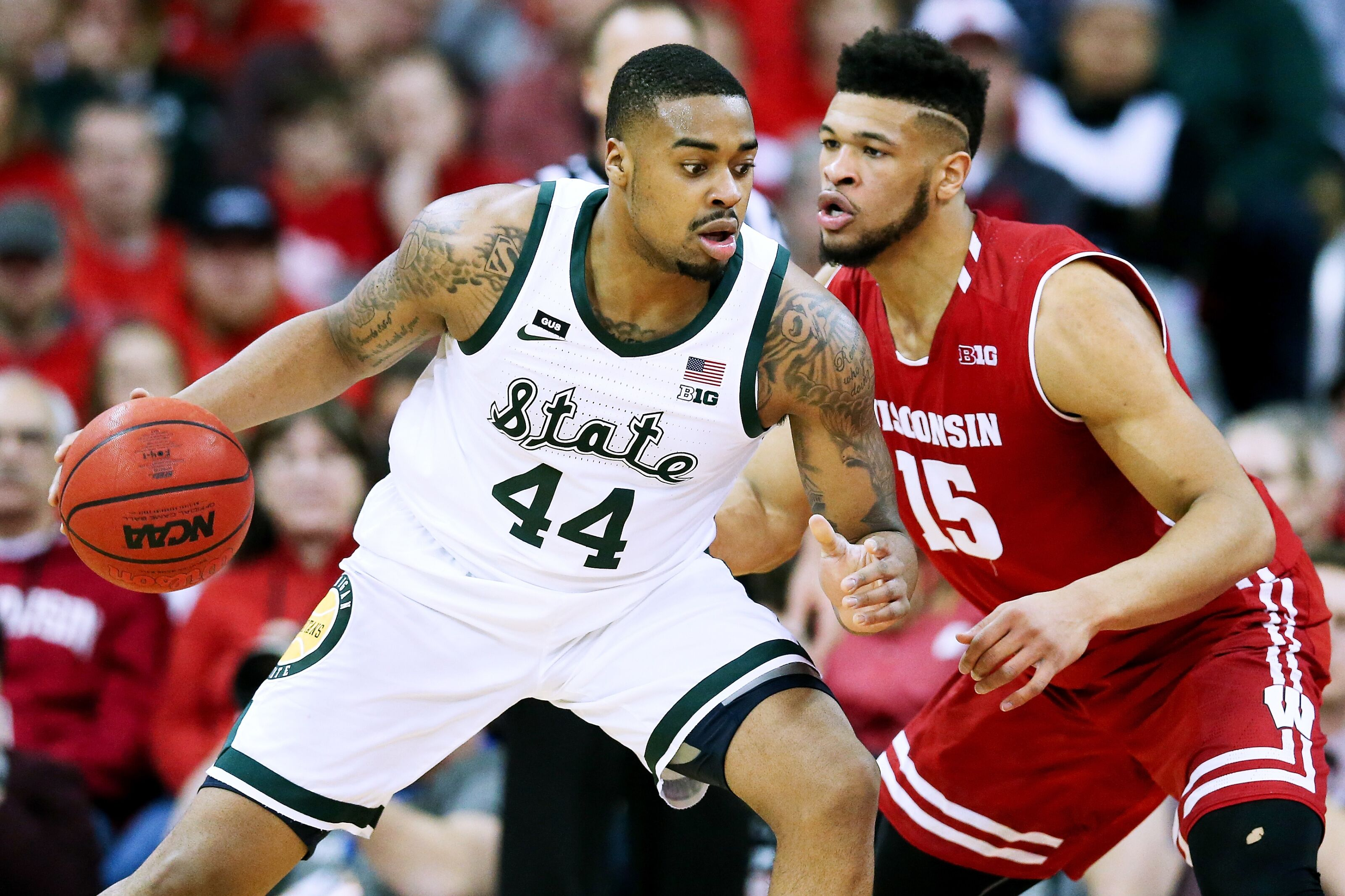 Michigan State basketball makes statement with huge win at Wisconsin
