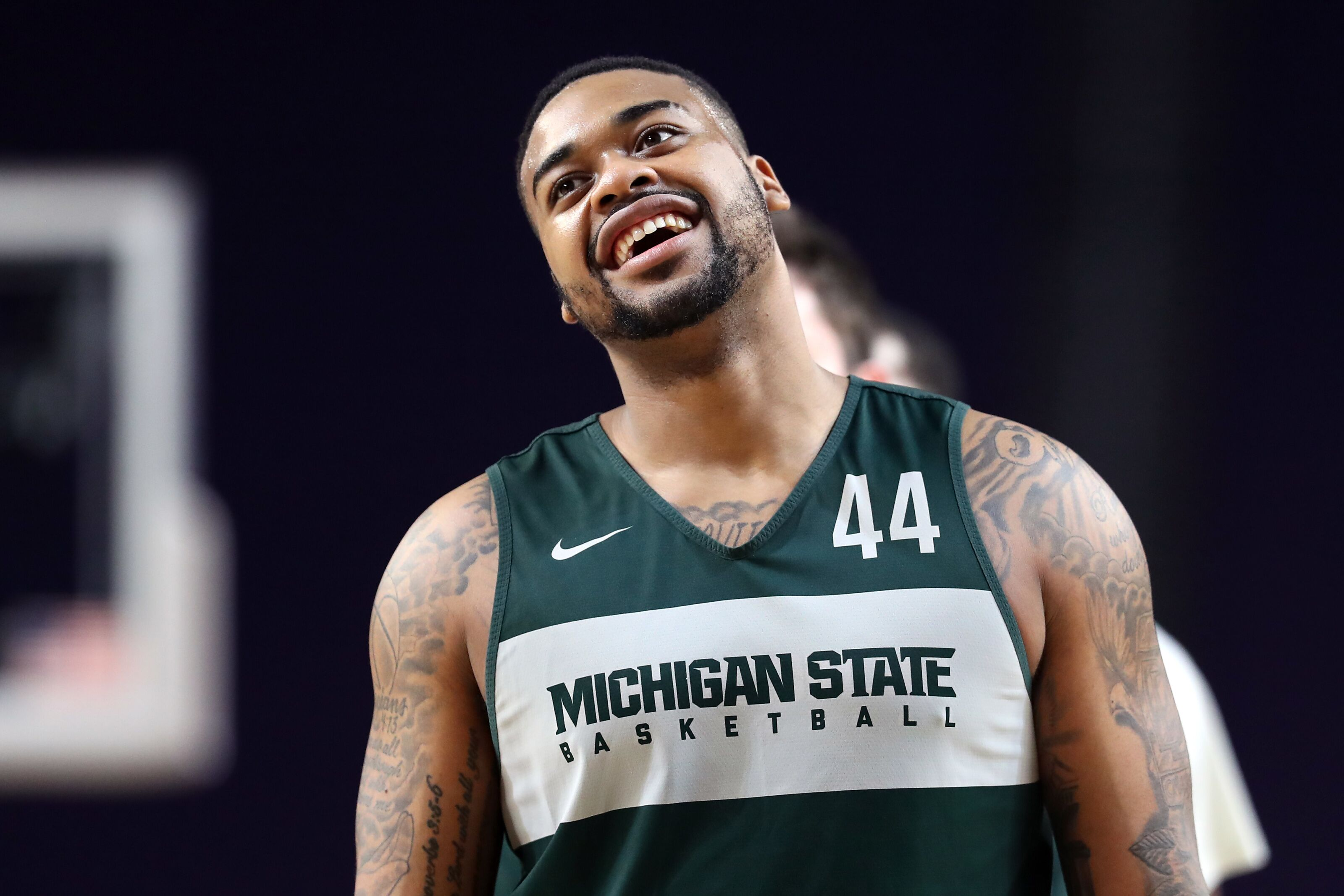 Michigan State Basketball: Nick Ward working out for Detroit Pistons