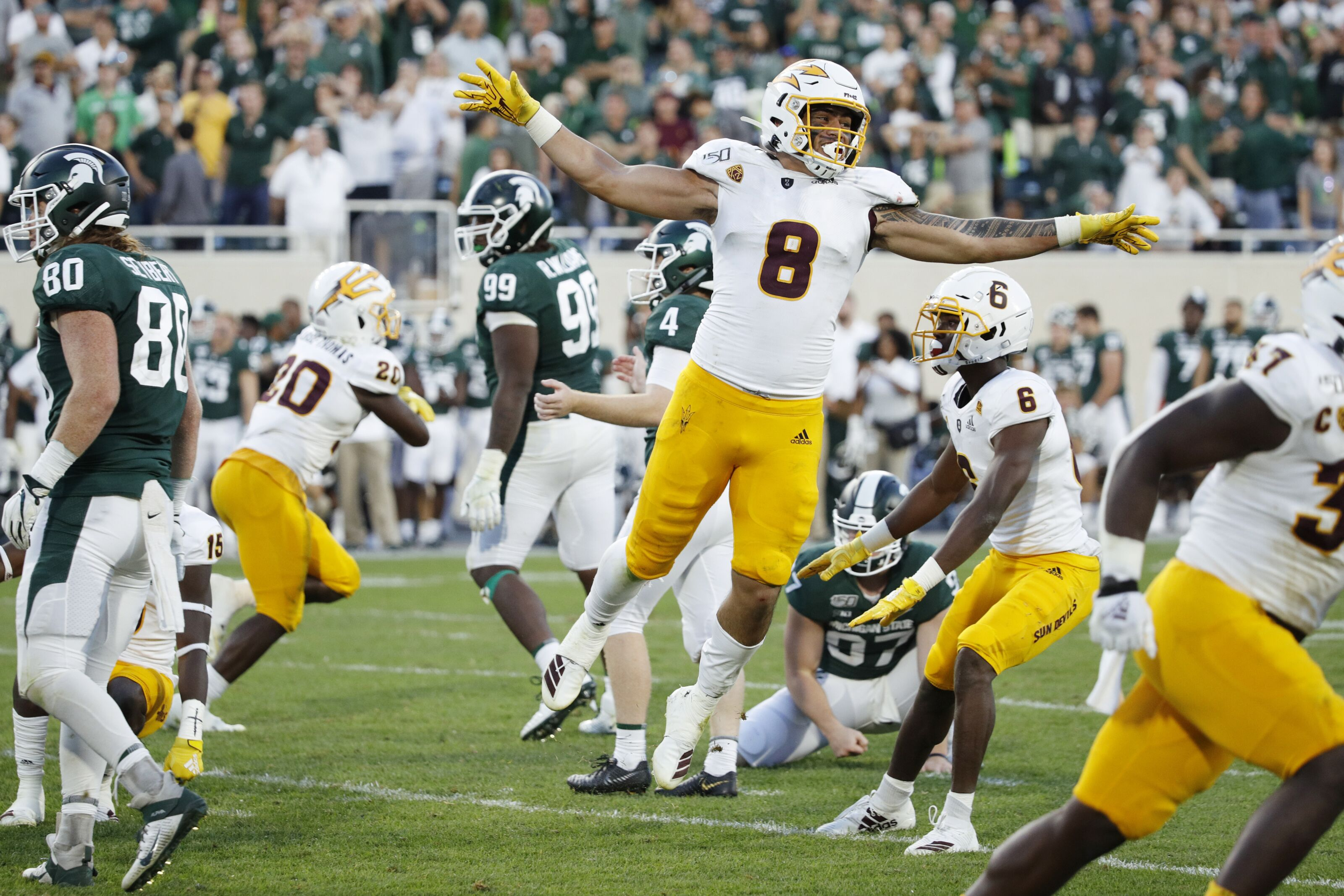 Michigan State Football: Refs admit crucial mistake in Arizona State game