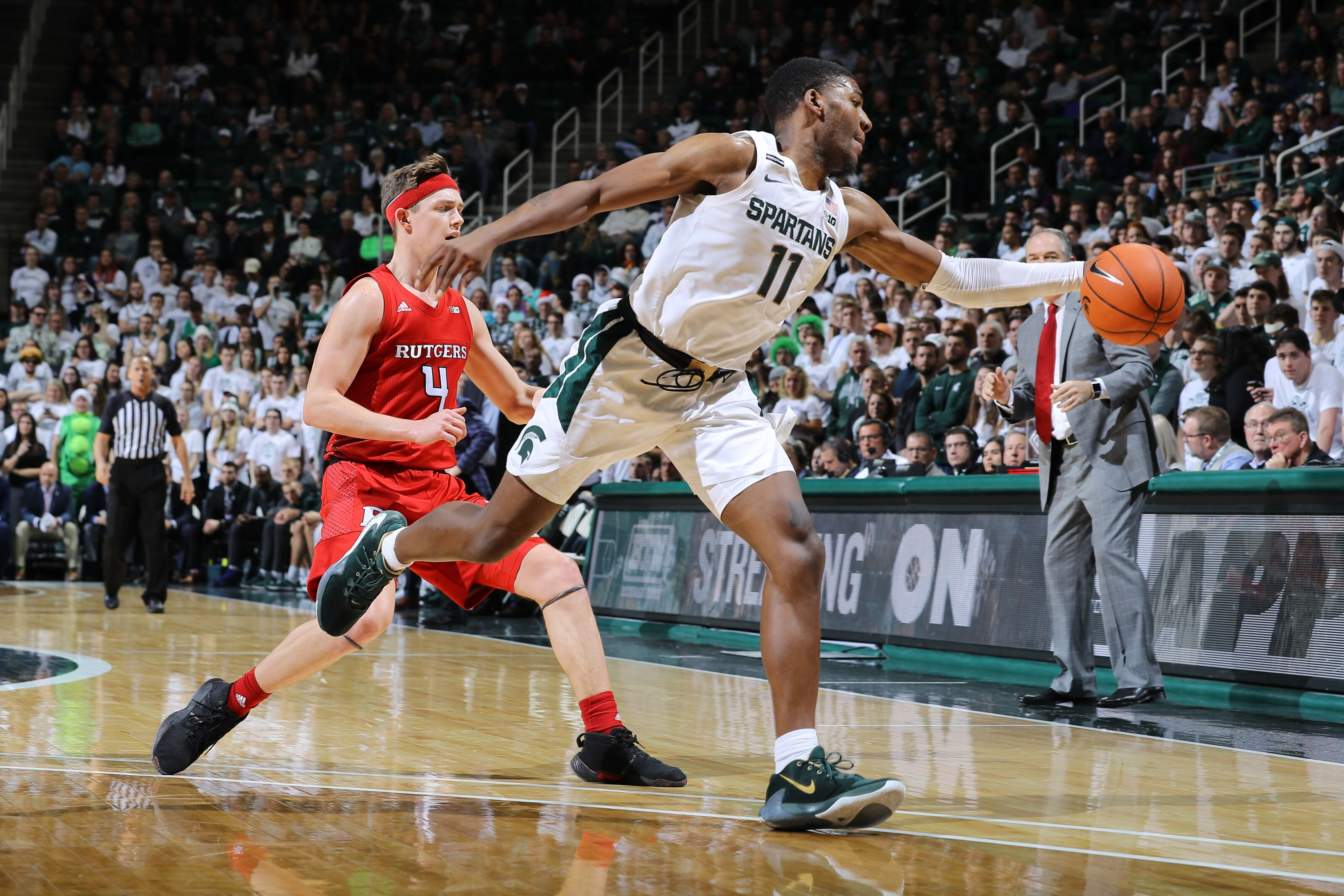 Michigan State Basketball: Report card for grind-it-out win vs. Rutgers