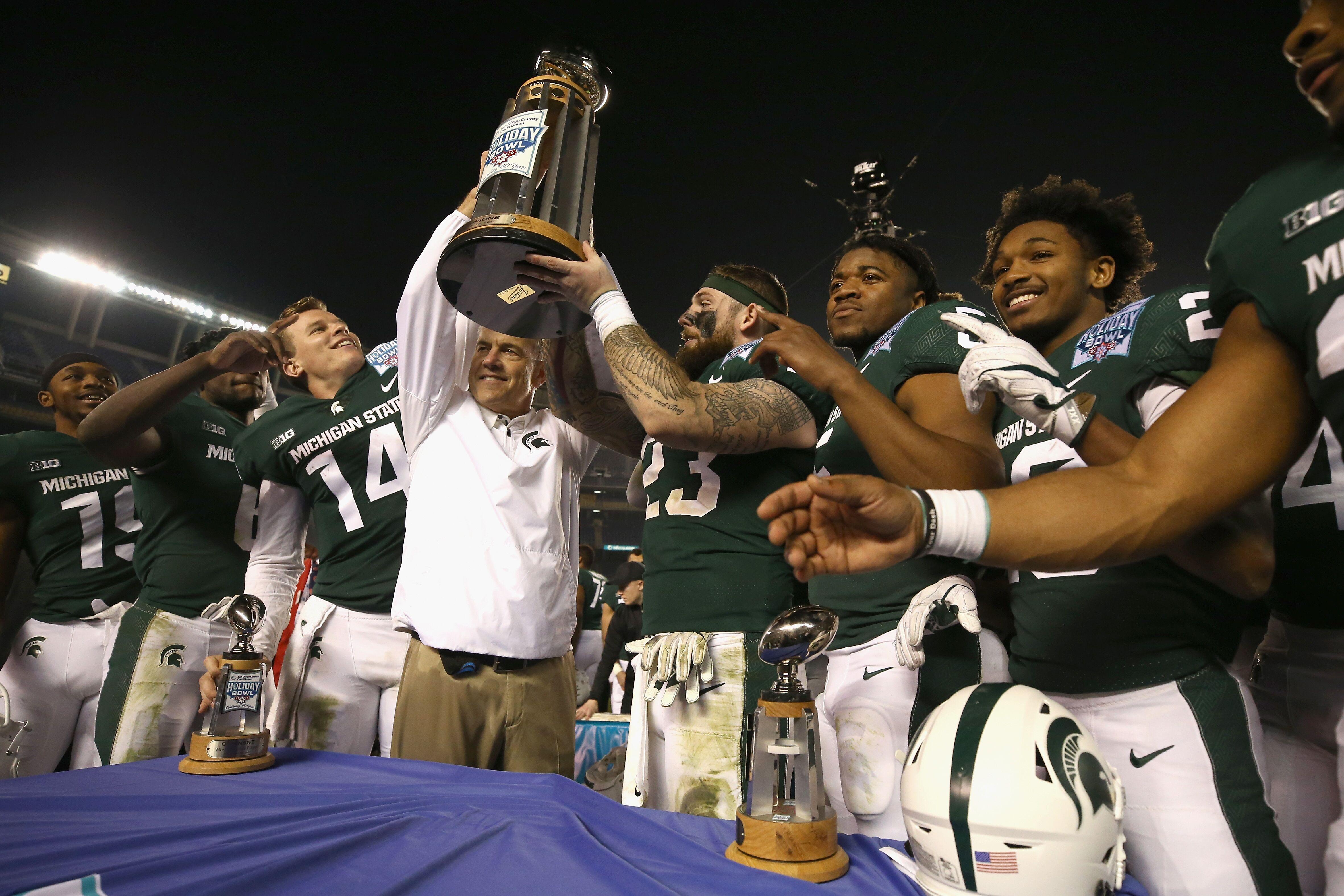 Michigan State Football: 4-star OLB Jaheim Thomas names top 7