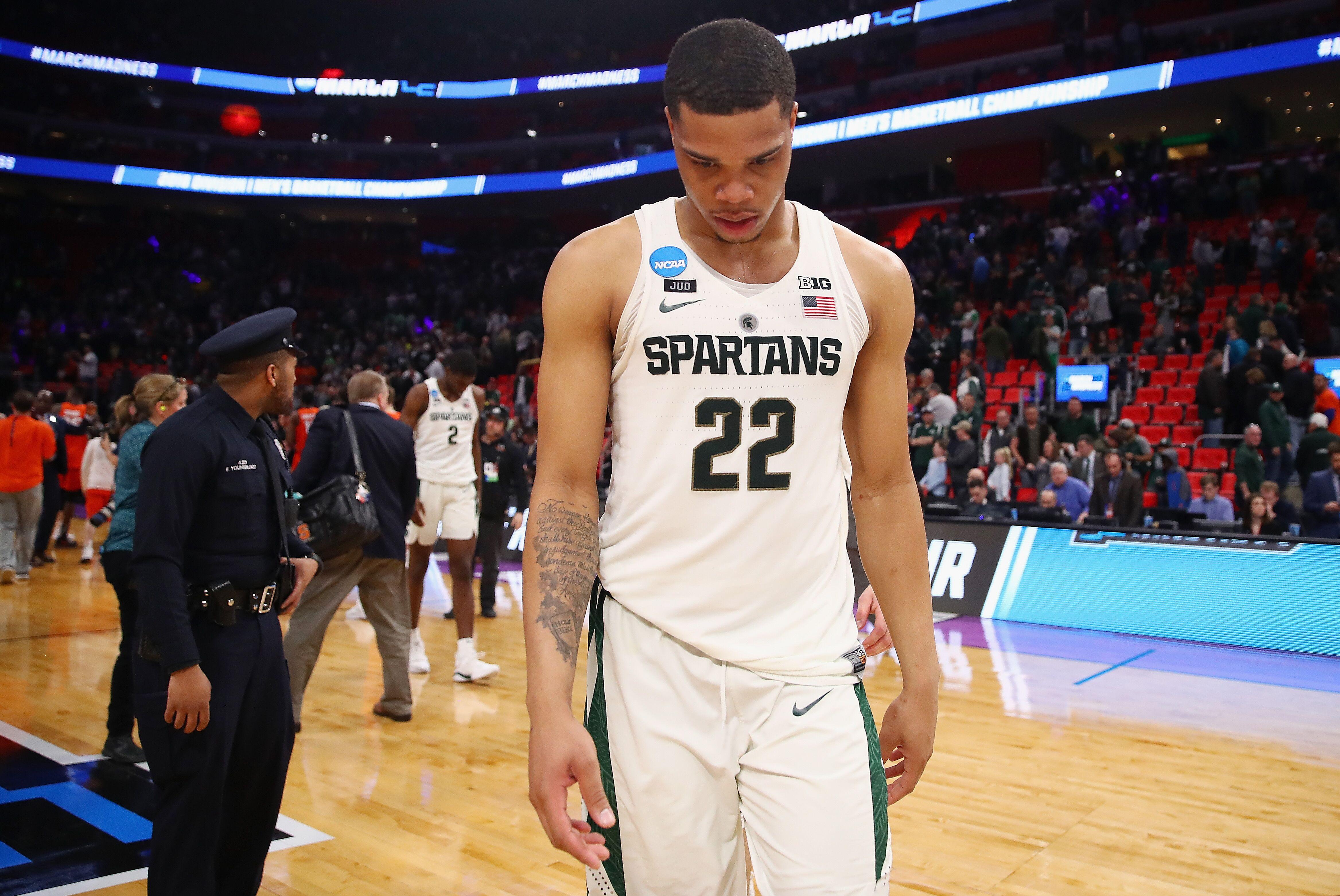 reputable site a8c13 2b45c Michigan State Basketball: Is a Miles Bridges return realistic?